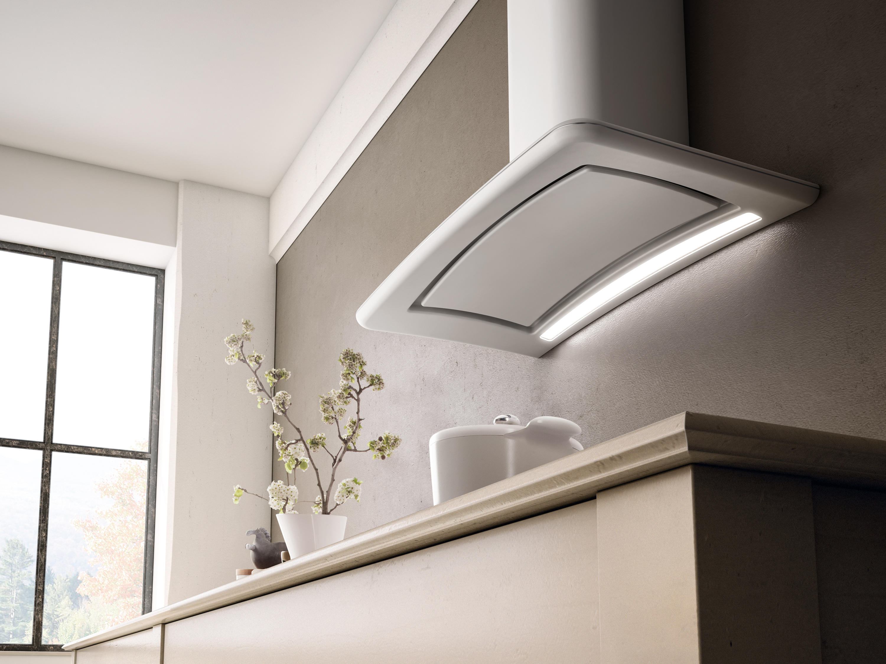 Elica Sweet Sweet Wall Mounted Extractors From Elica Architonic