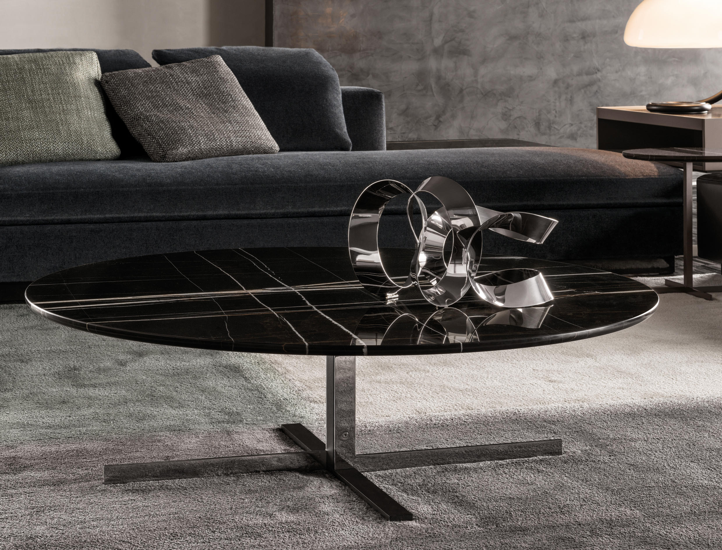 Marmortisch Lang Catlin Coffee Tables From Minotti Architonic
