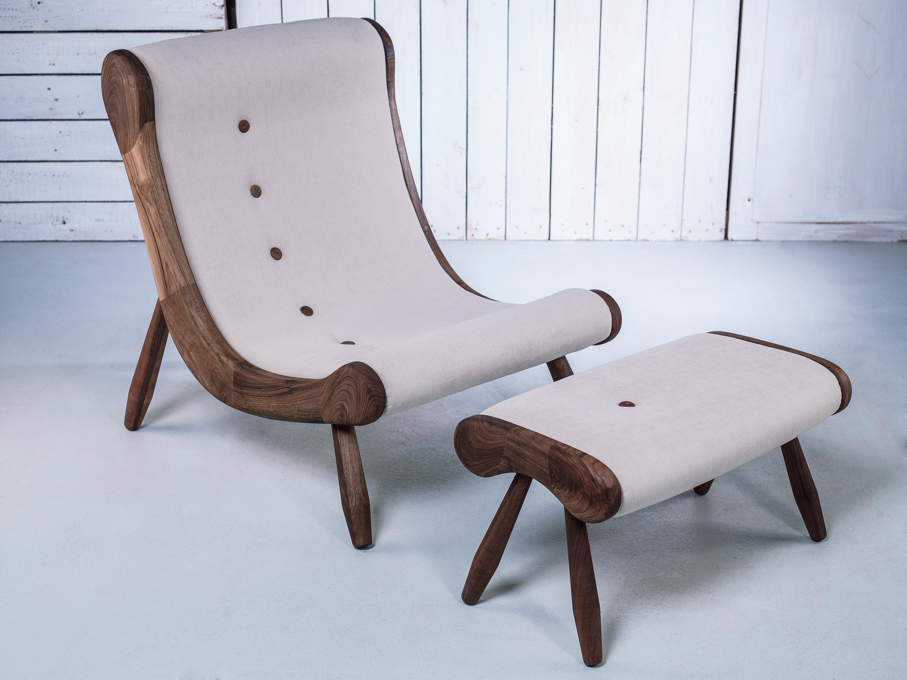 Eye Armchair Ottoman Lounge Chairs From Hookl Und