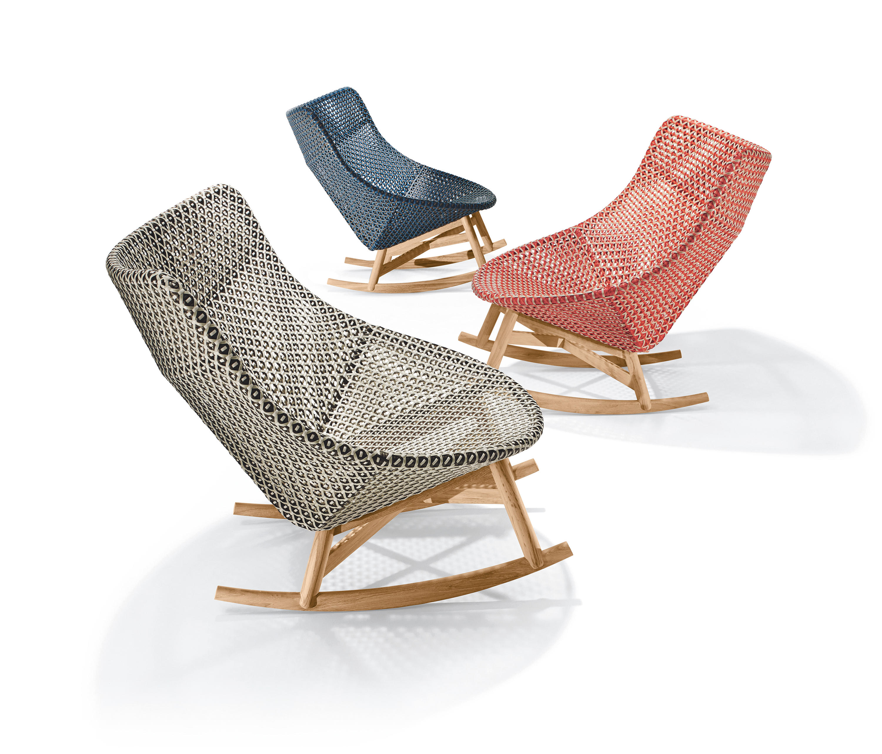 Dedon Mbrace Mbrace Rocking Chair Armchairs From Dedon Architonic