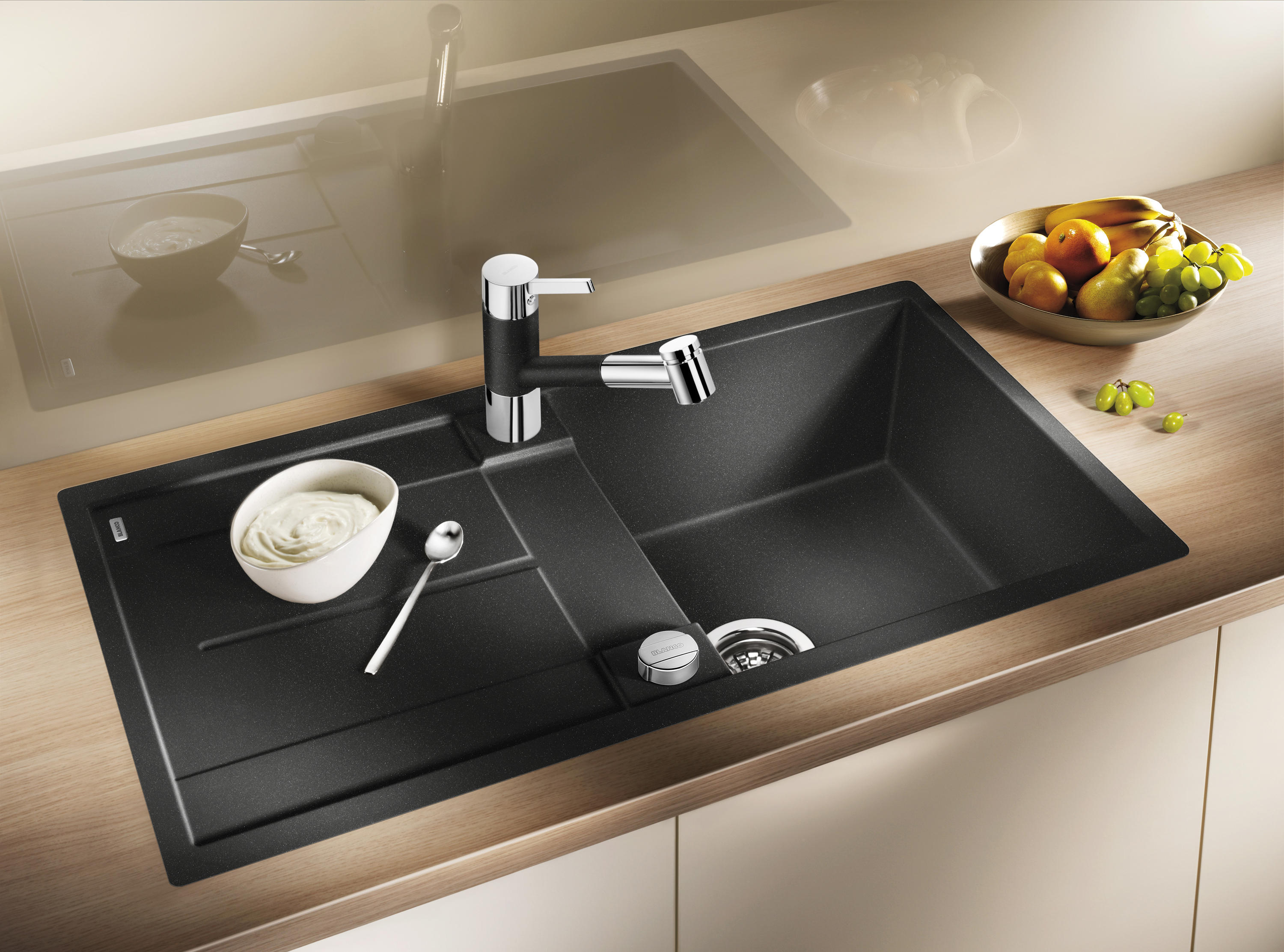Küche Spülen Blanco Metra 45 S Silgranit Anthracite Kitchen Sinks