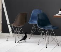 EAMES MOLDED FIBERGLASS SIDE CHAIR - Restaurant chairs ...