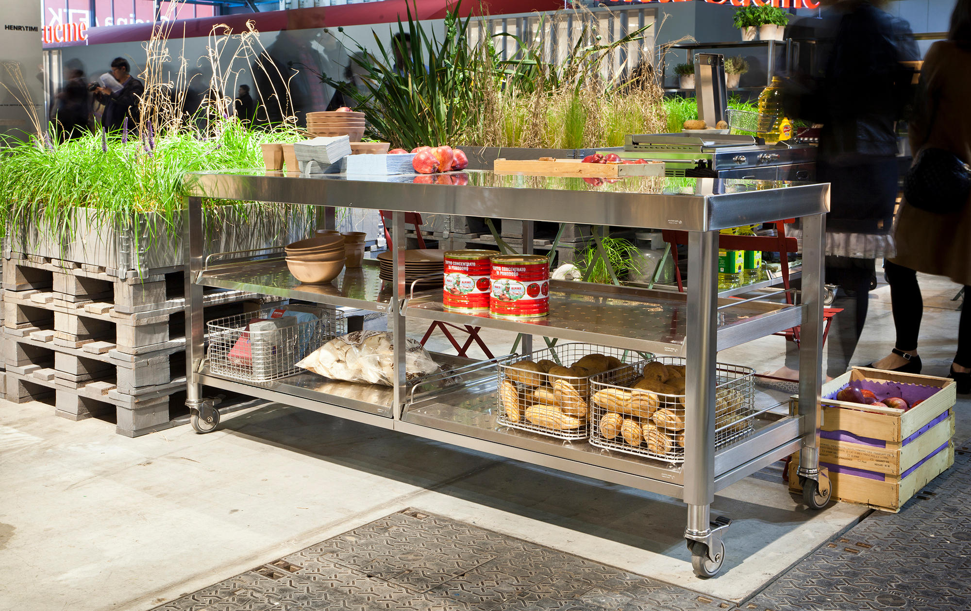 Outdoor Küche Inox Outdoor 130 Kitchens Modular Kitchens From Alpes Inox Architonic