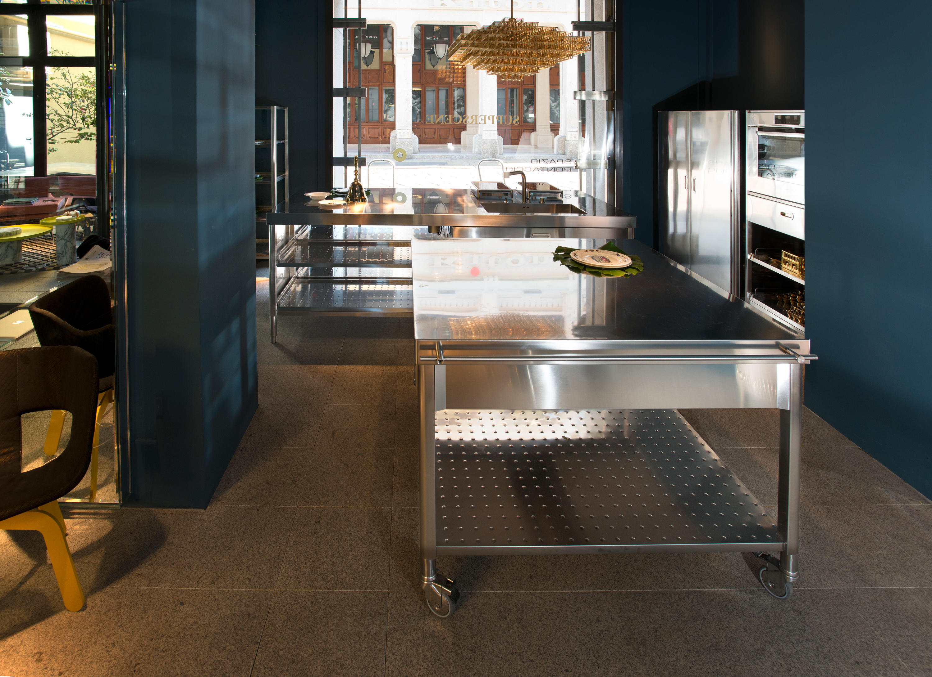 Outdoor Küche Inox 70 Kitchen Carts Mobile Kitchen Units From Alpes Inox Architonic