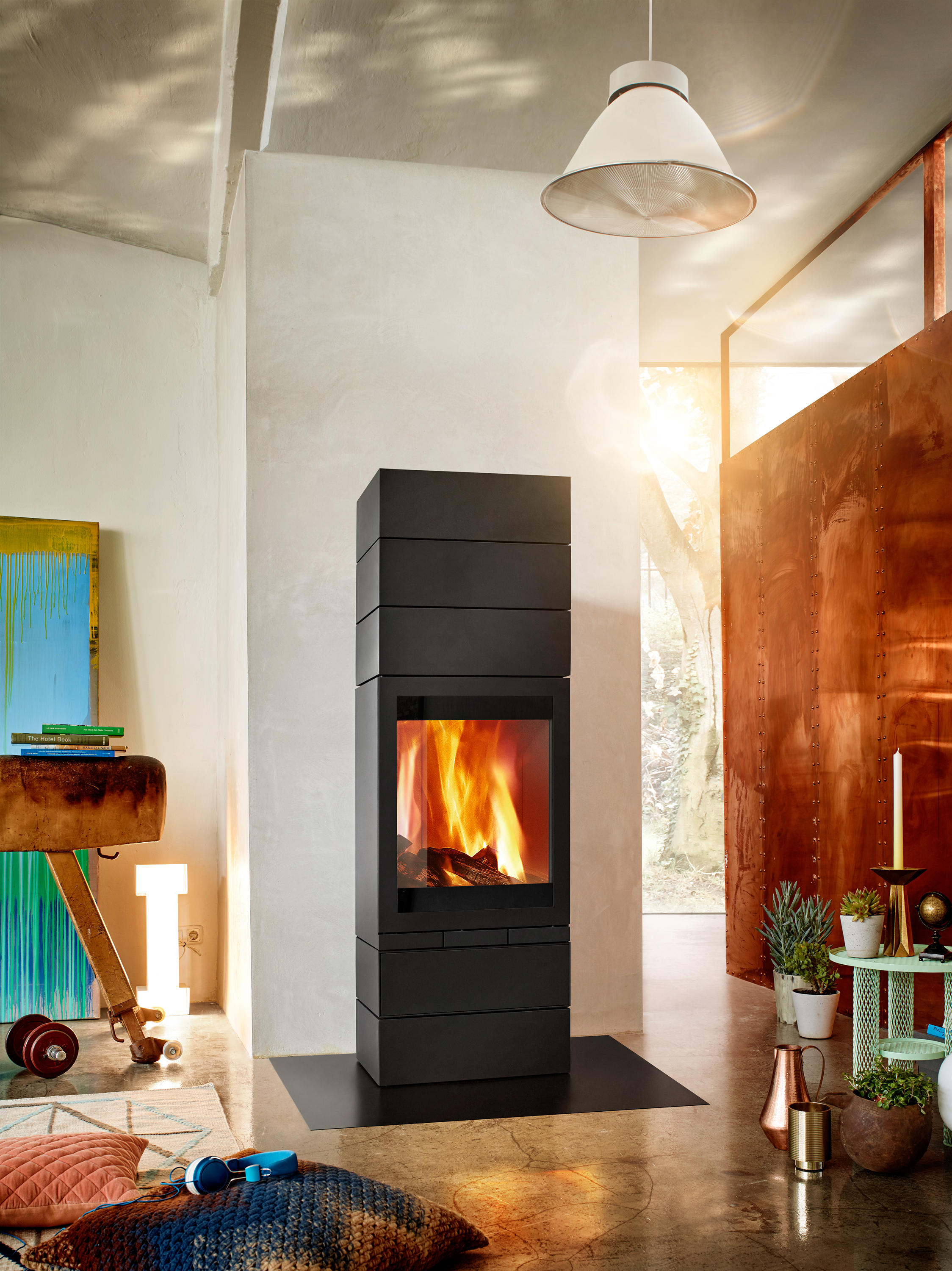 Skantherm Elements Elements Rund - Stoves From Skantherm | Architonic