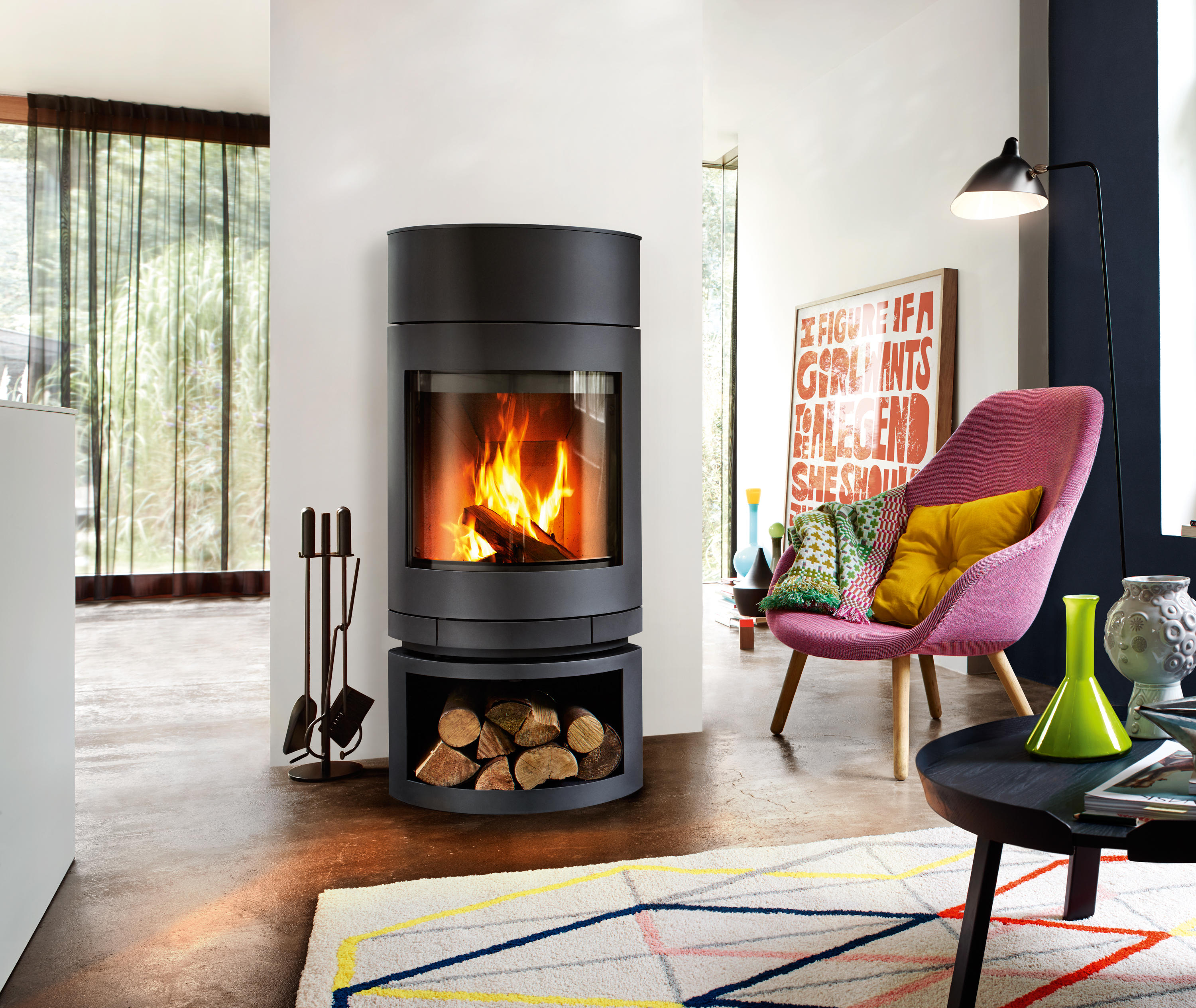 Kaminofen Skantherm Milano Stein Milano Stoves From Skantherm Architonic