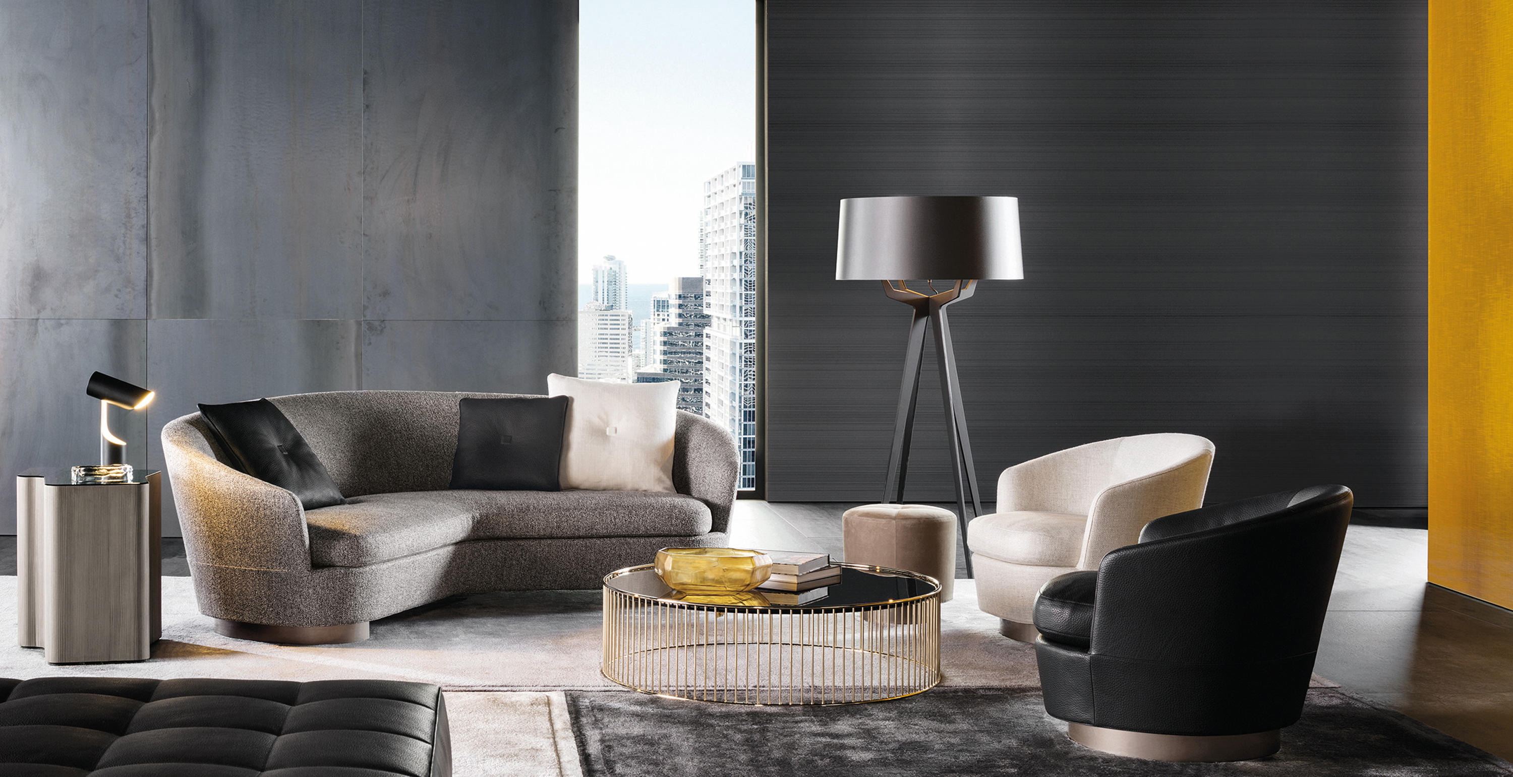 Curved Sofa Jacques Armchair - Armchairs From Minotti | Architonic