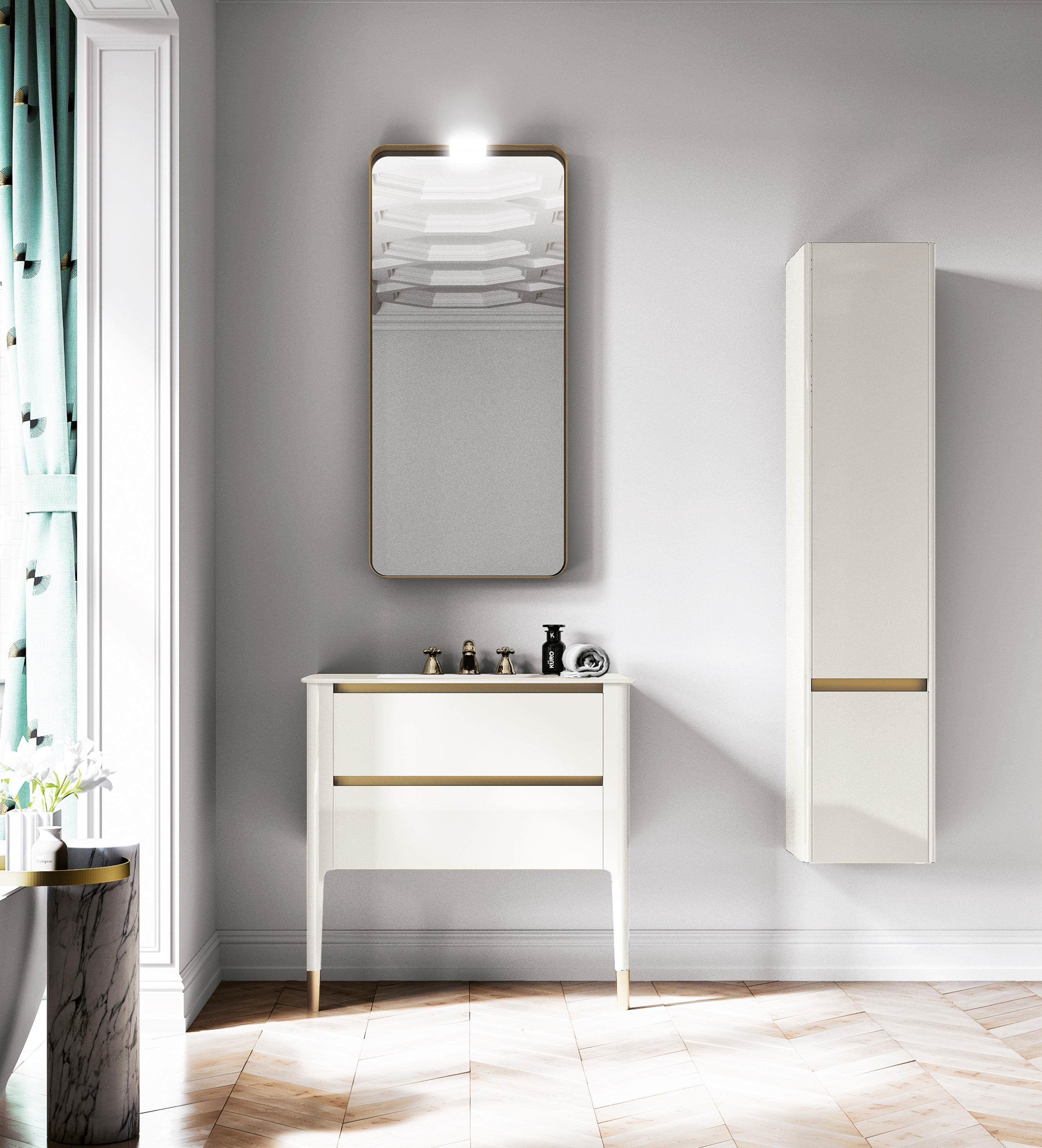 Bagno Design Bradford Art Wall Mounted Mirror Light Wall Lights From Bagnodesign