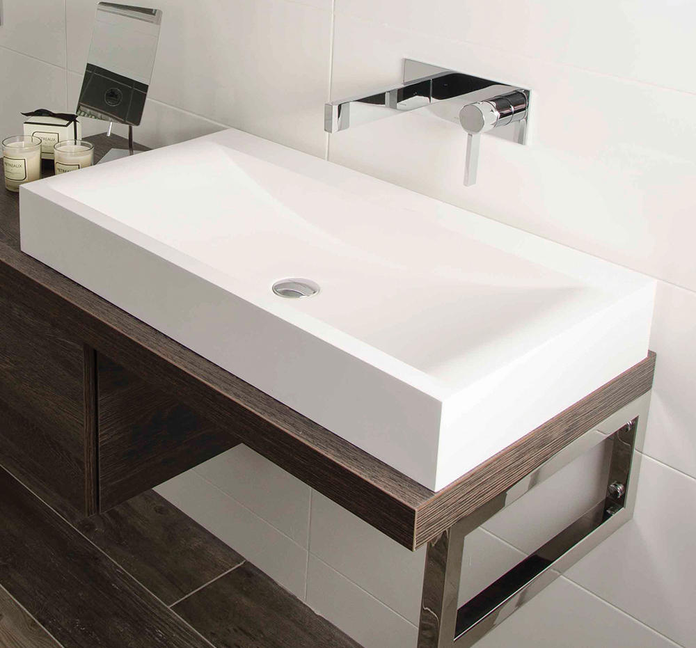 Bagno Design Bradford Metreaux Mono Smooth Bodied Basin Mixer Wash Basin Taps From