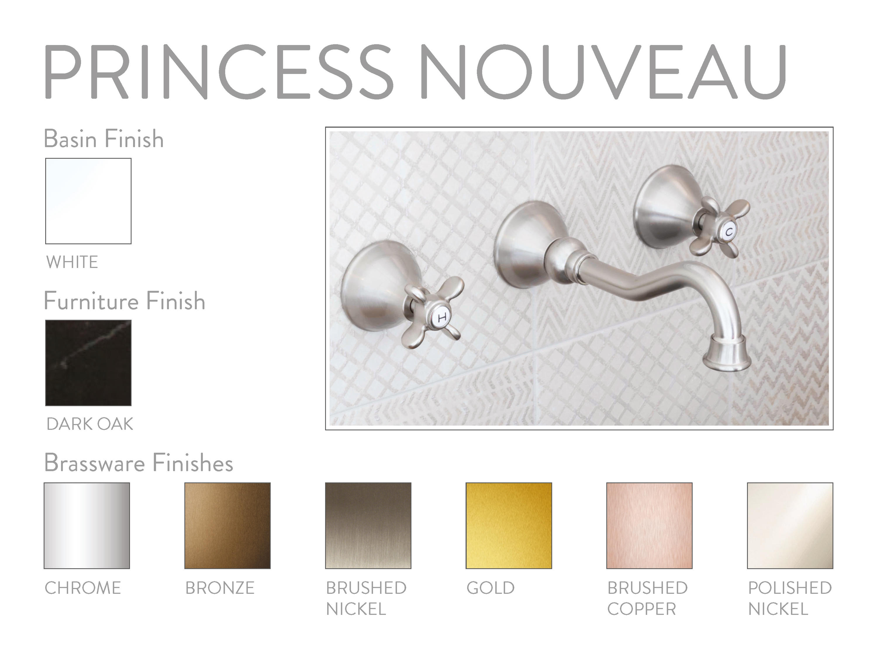 Bagnodesign Princess Nouveau Princess Nouveau Shower Column Floor Inlet Shower