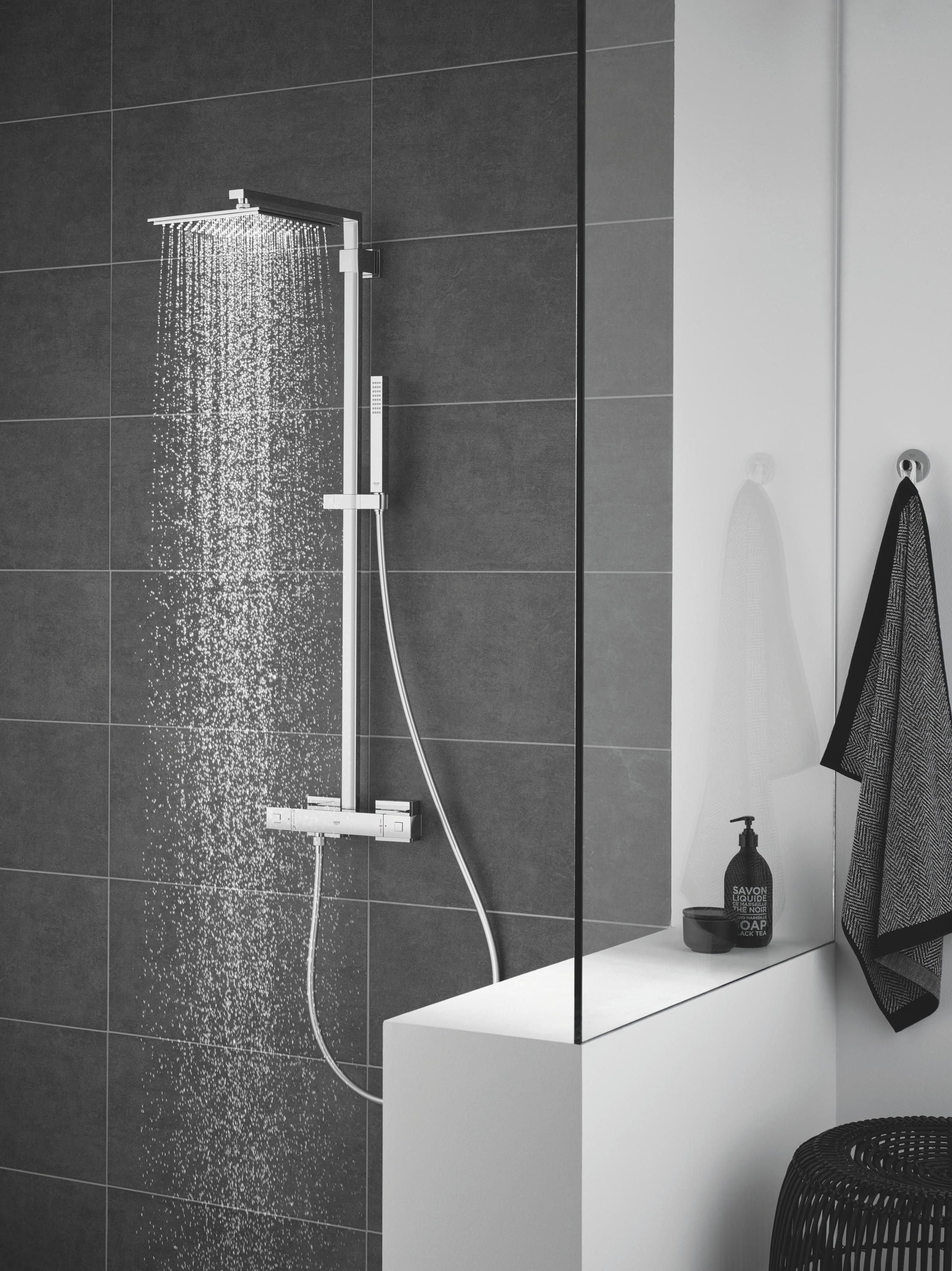Thermostat Duscharmatur Euphoria System 152 Shower System With Thermostatic Mixer