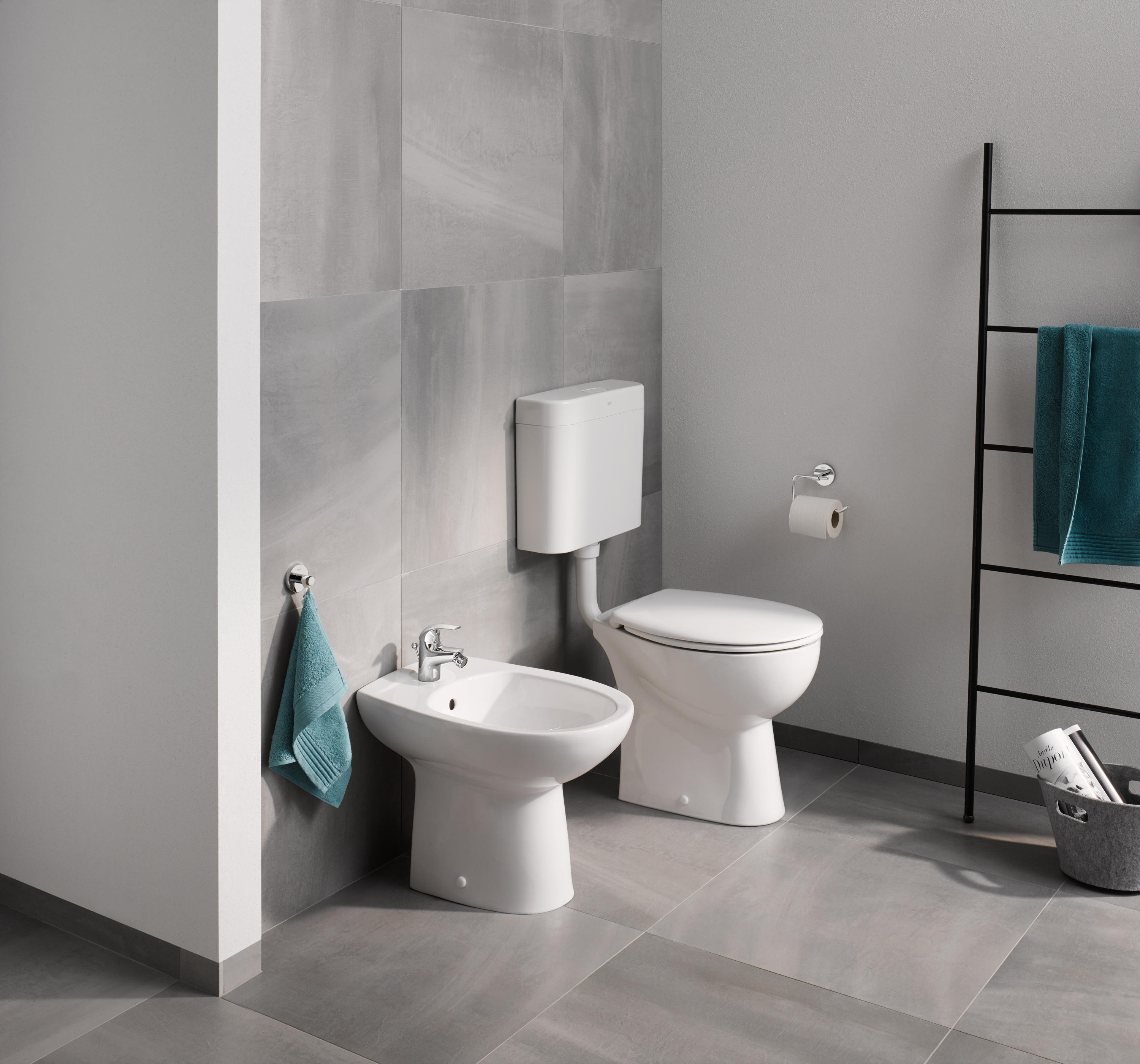 Sanitarios Grohe Bau Ceramic Wc Wall Hung Inodoros De Grohe Architonic