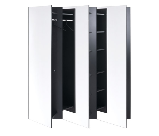 Hesperide Catalogue Skew Wall-mounted Wardrobe - Cloakroom Cabinets From