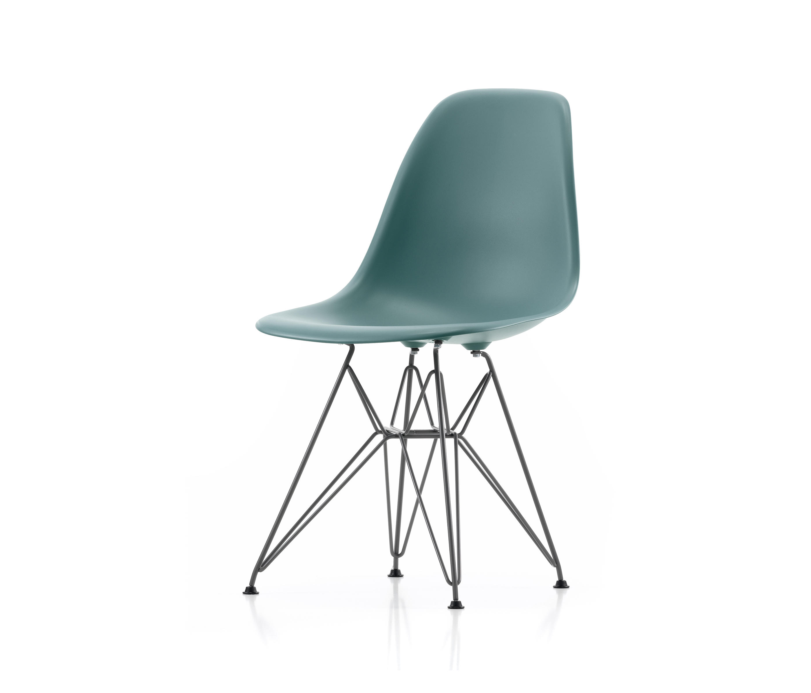 Eames Plastic Chair Eames Plastic Side Chair Dsr Chairs From Vitra Architonic