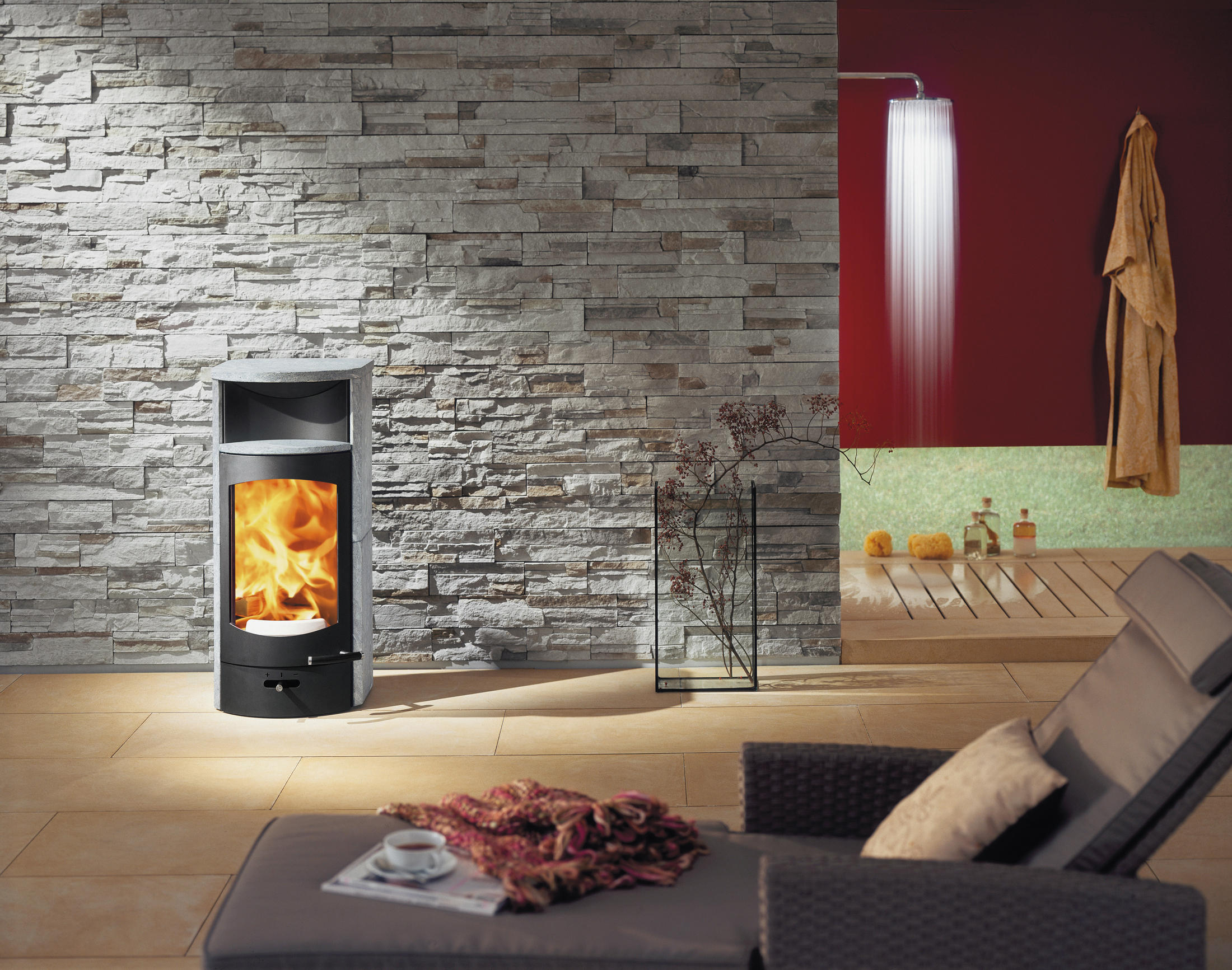 Kaminofen Austroflamm Pallas Back Flok Stoves From Austroflamm Architonic