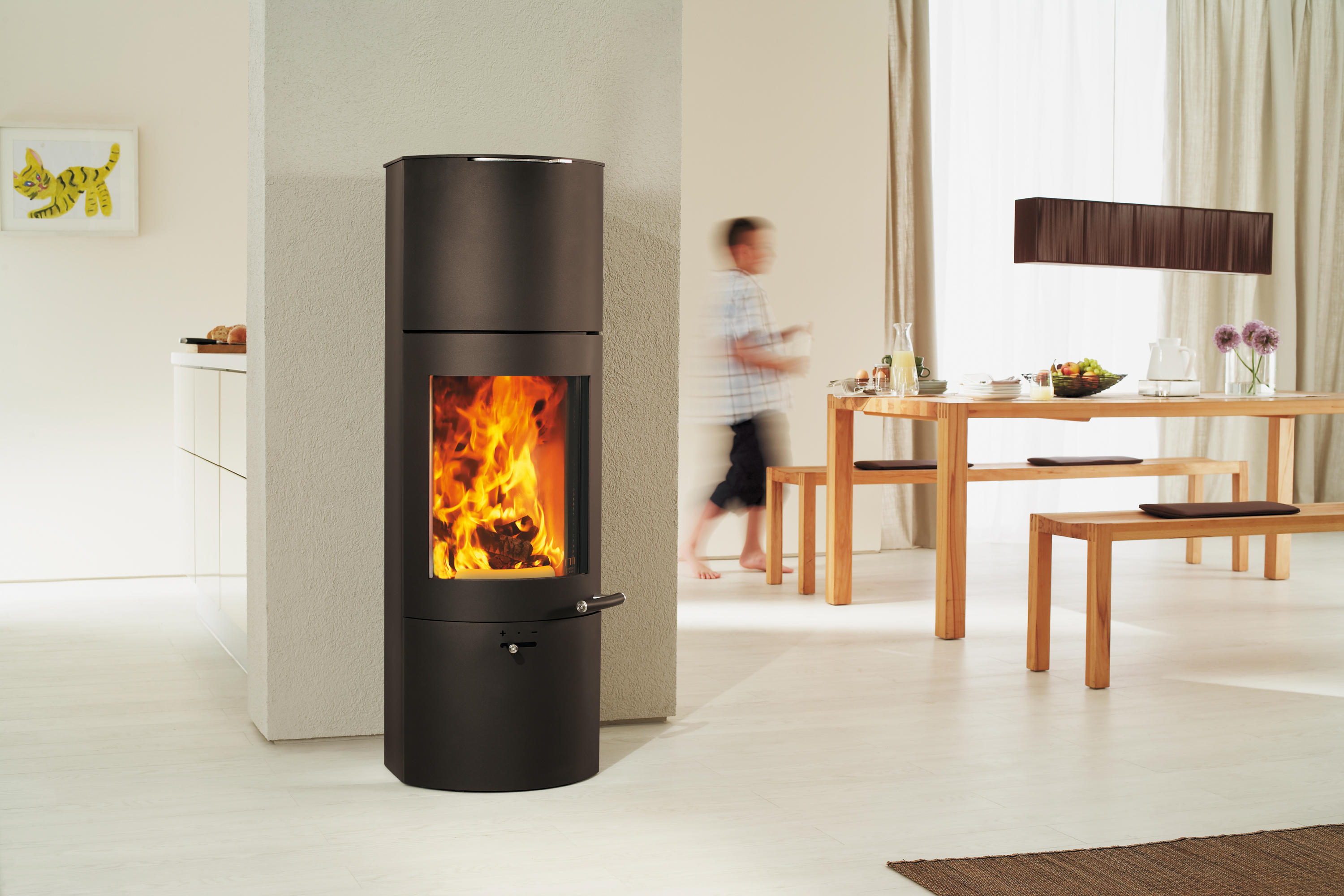 Kaminofen Austroflamm Stila Tower Xtra Stoves From Austroflamm Architonic