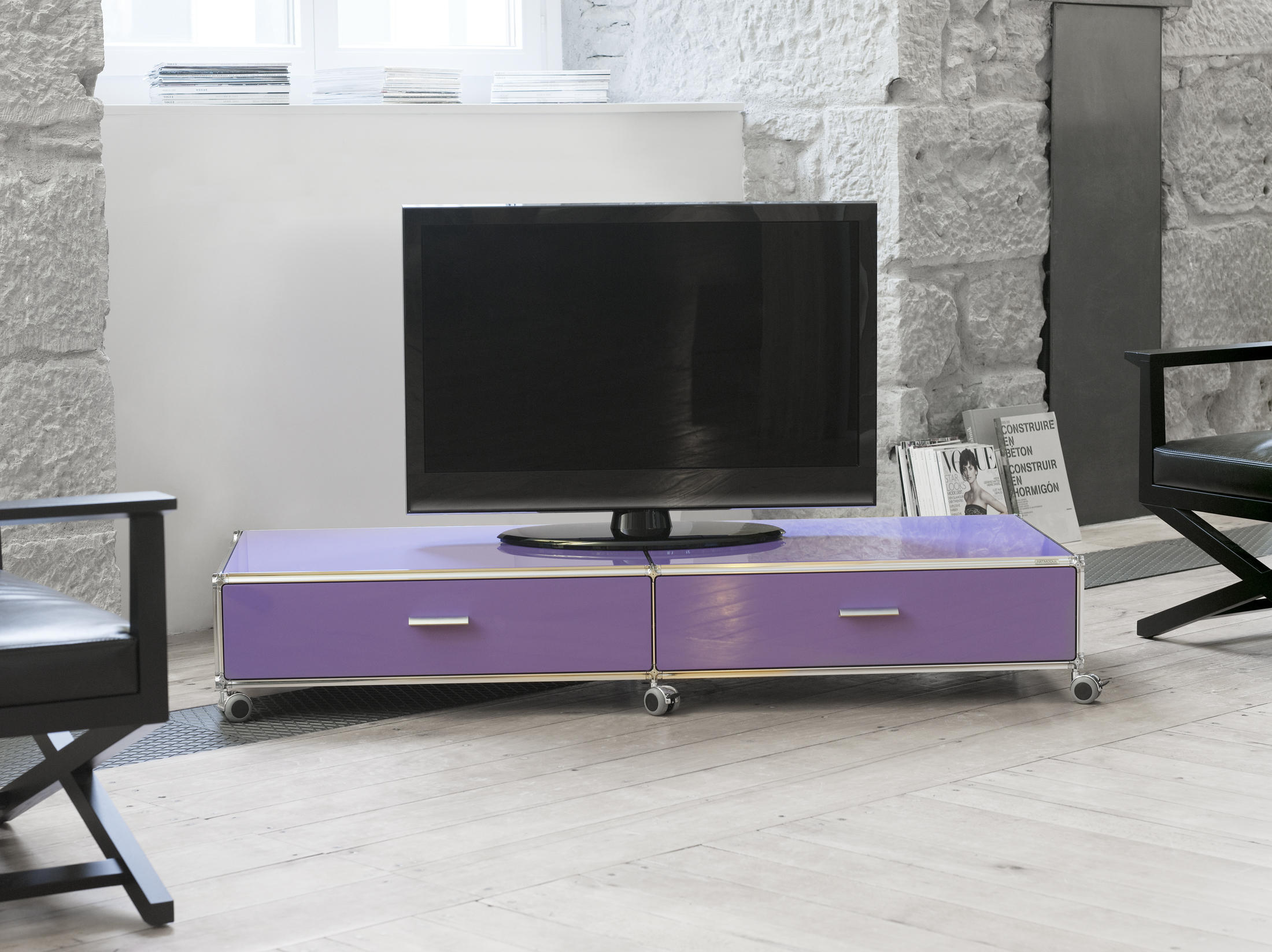 Lowboard Rot Lowboard Multimedia Sideboards From Artmodul Architonic