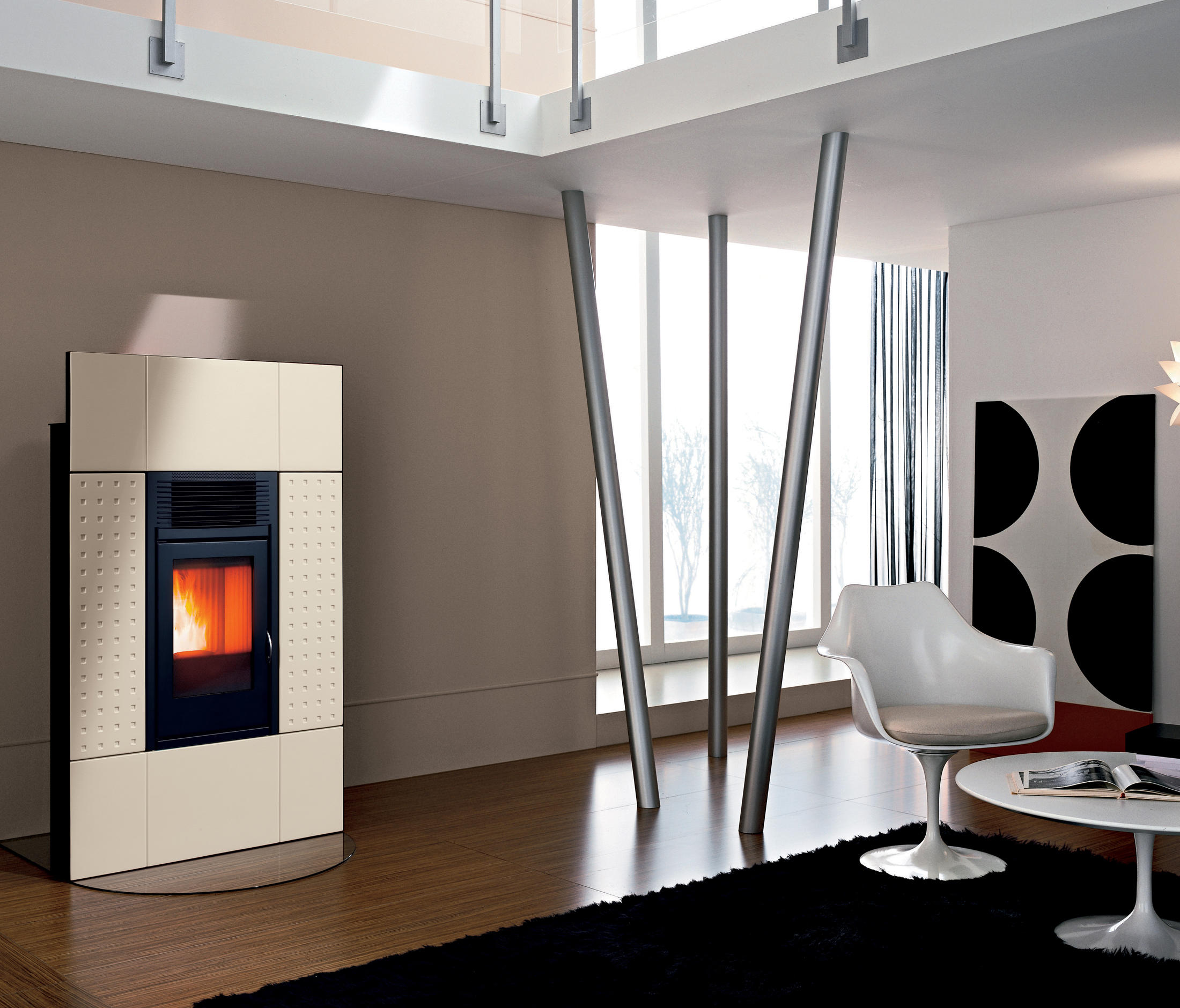 Caminetto Mcz Vivo 80 Class Modulo Pellet Stoves From Mcz Architonic