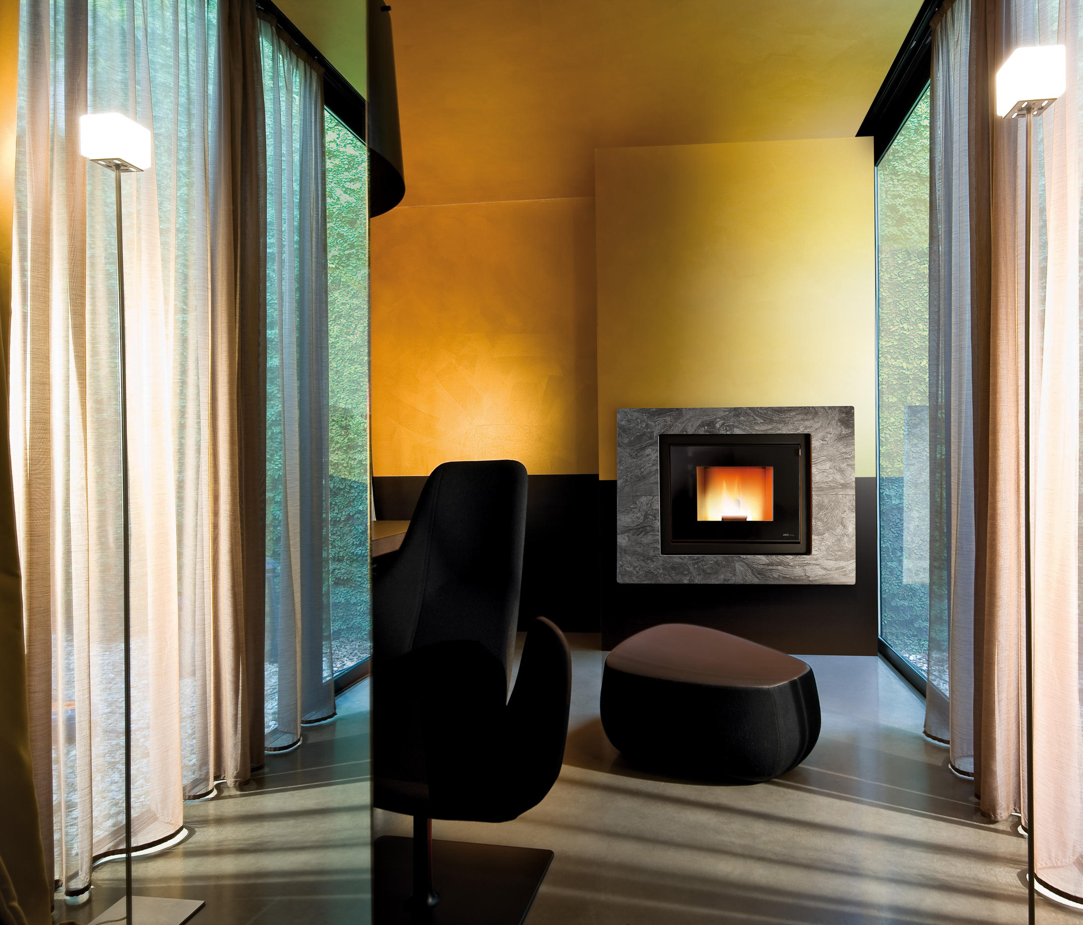 Mcz Cute Modus Vivo 80 Pellet Stoves From Mcz Architonic
