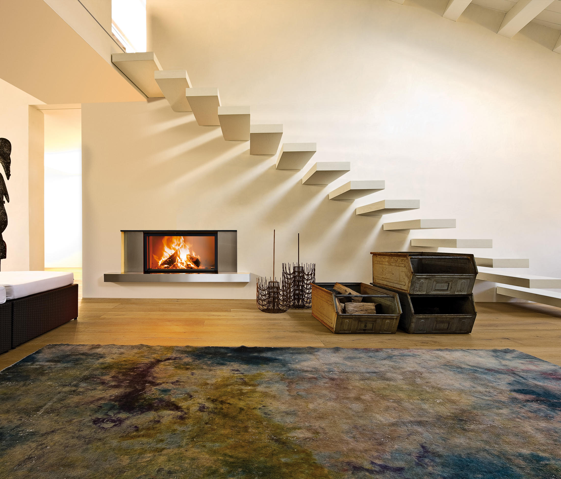 Caminetto Mcz Vivo 80 Guttuso Forma 95 Wood Closed Fireplaces From Mcz Architonic