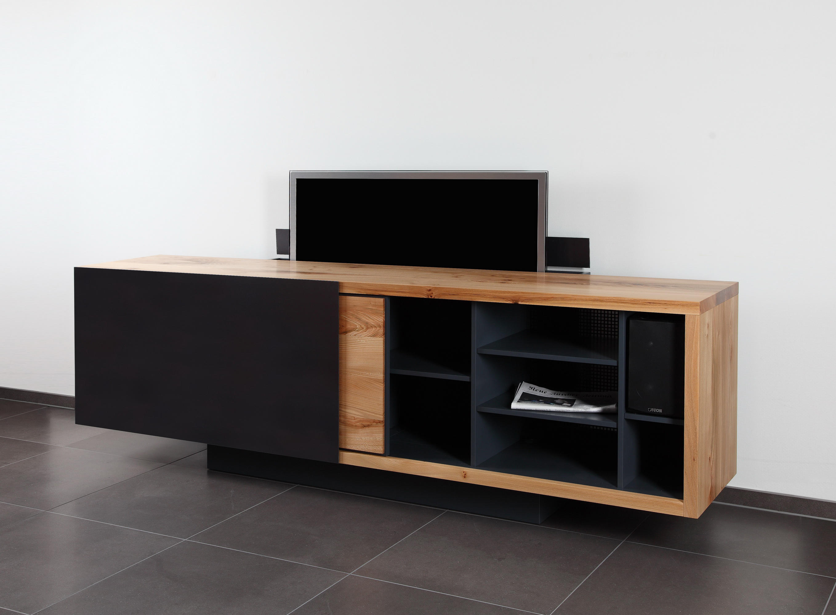 Fernsehmöbel Versenkbar Ign B2 Tv Sideboard Multimedia Sideboards Von Ign