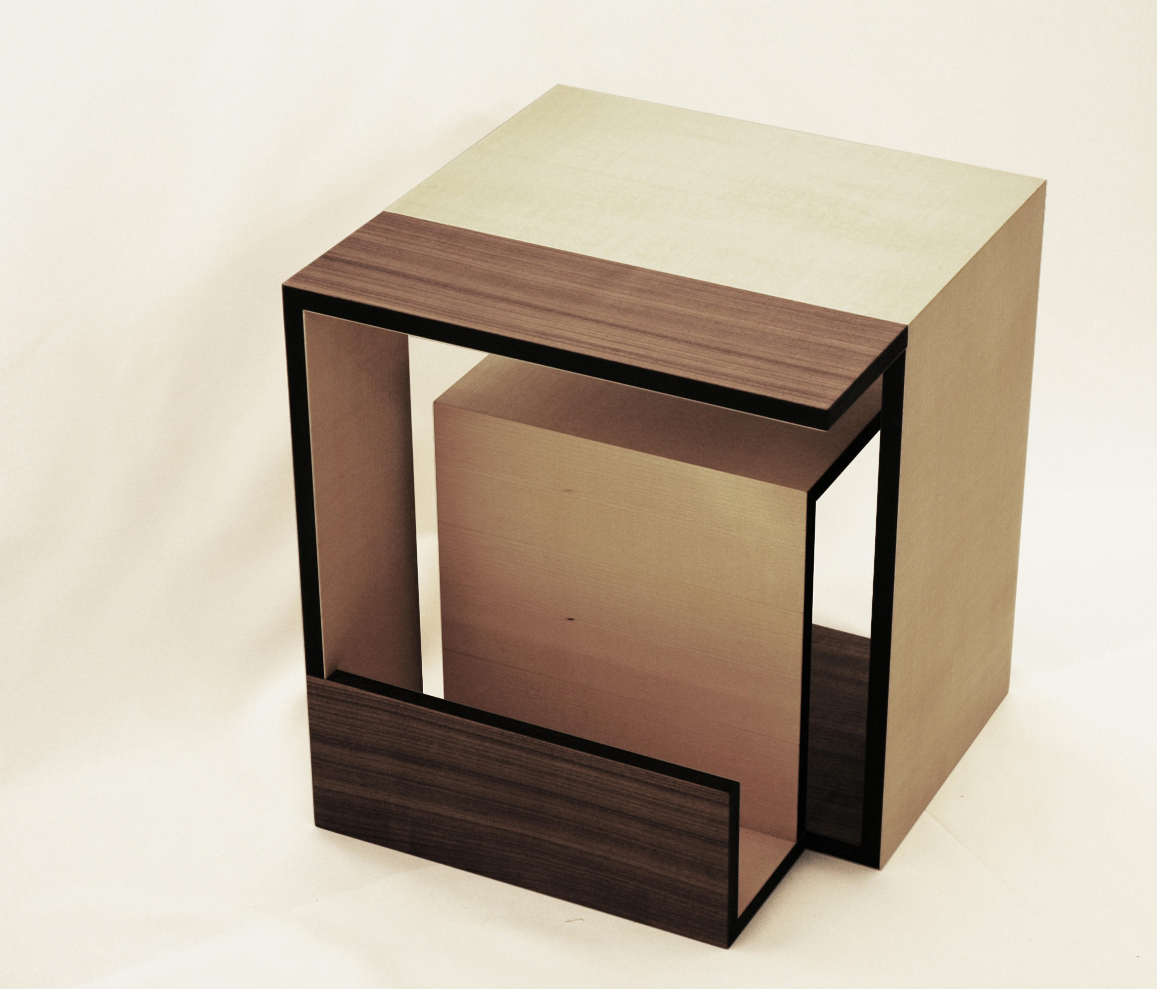 moebius cube side tables from xbritt moebel architonic