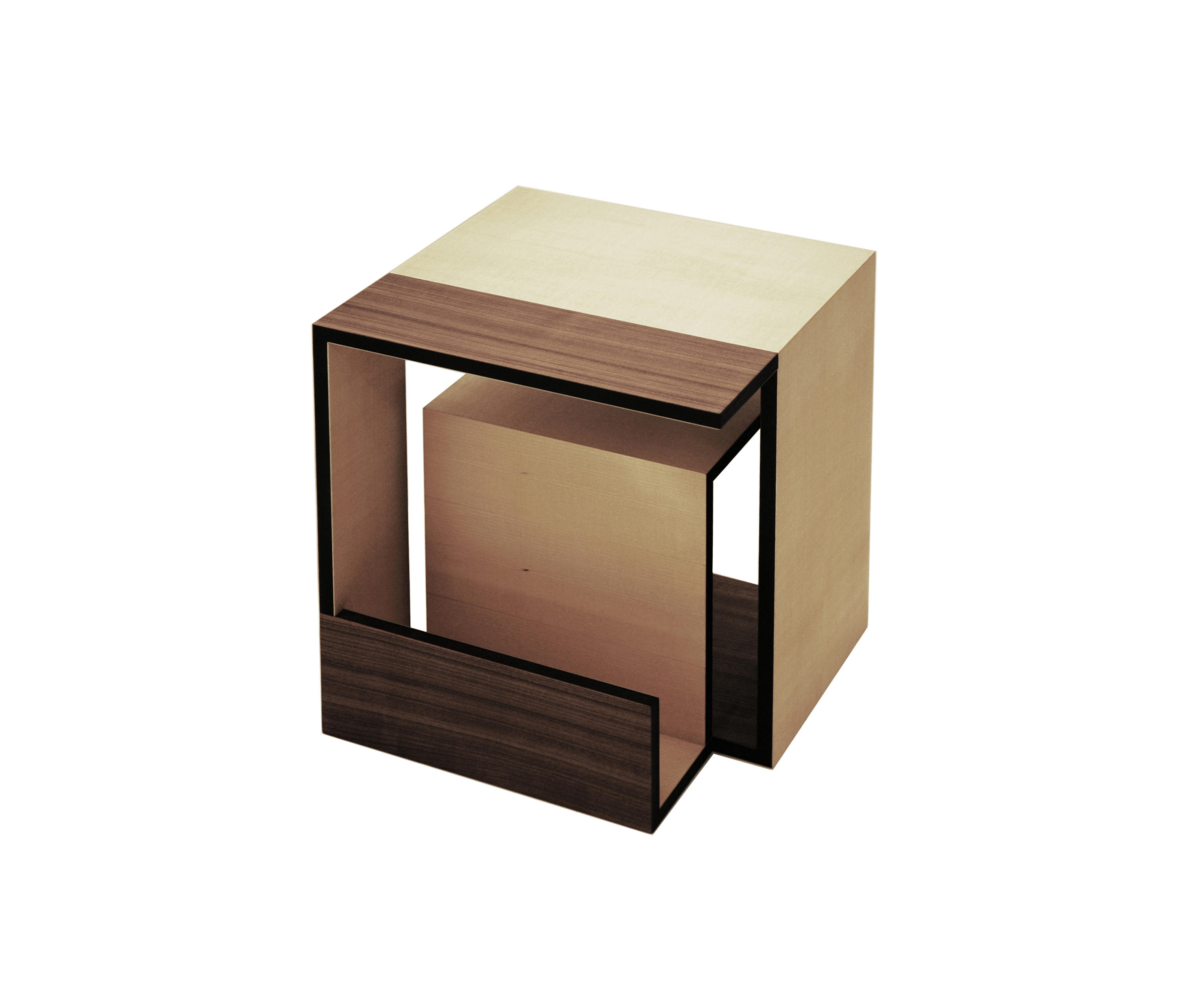 Cube Möbel Moebius Cube Side Tables From Xbritt Moebel Architonic
