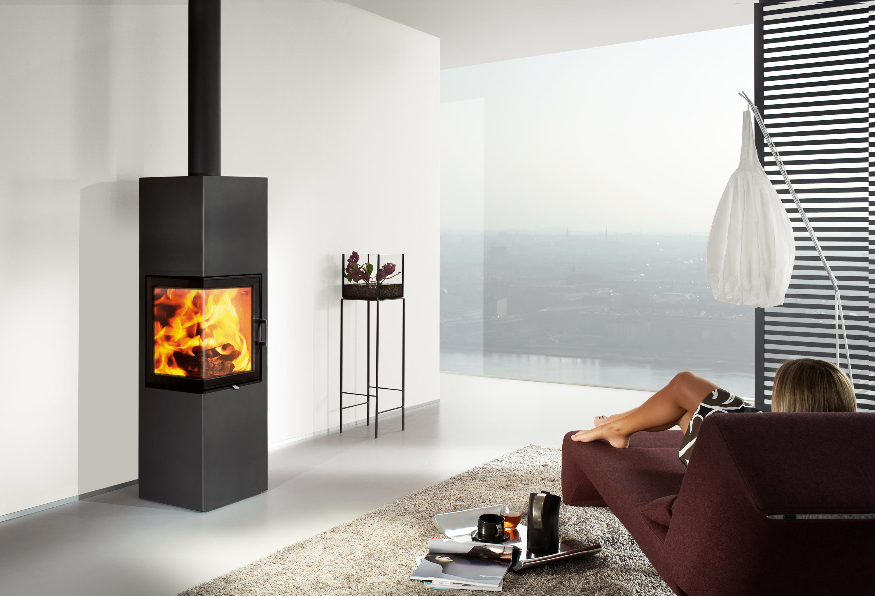 Kaminofen Austroflamm Stila Slim 2 Stoves From Austroflamm Architonic