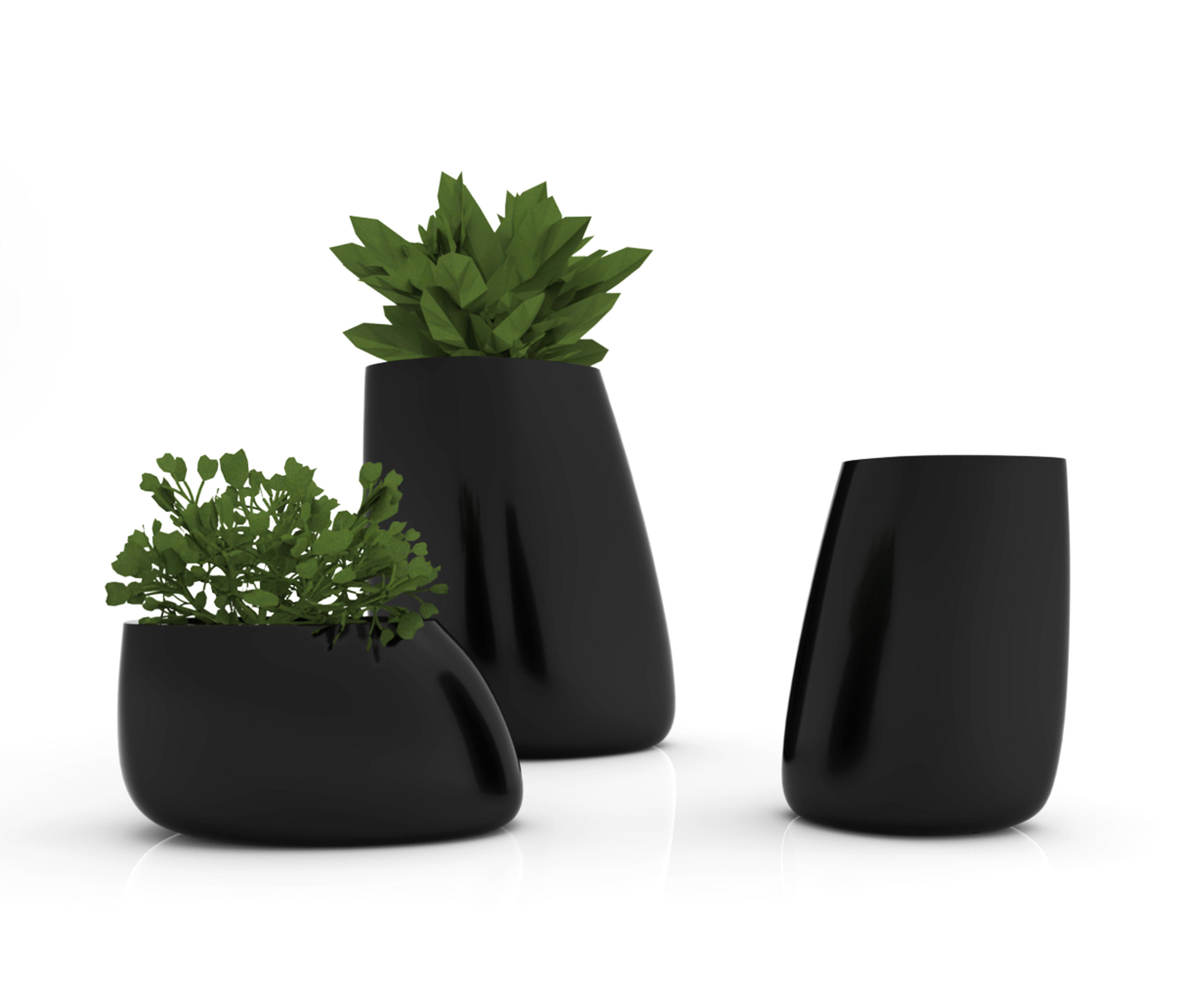 Jardineras Modernas Interiores Stone Pot - Plant Pots From Vondom | Architonic