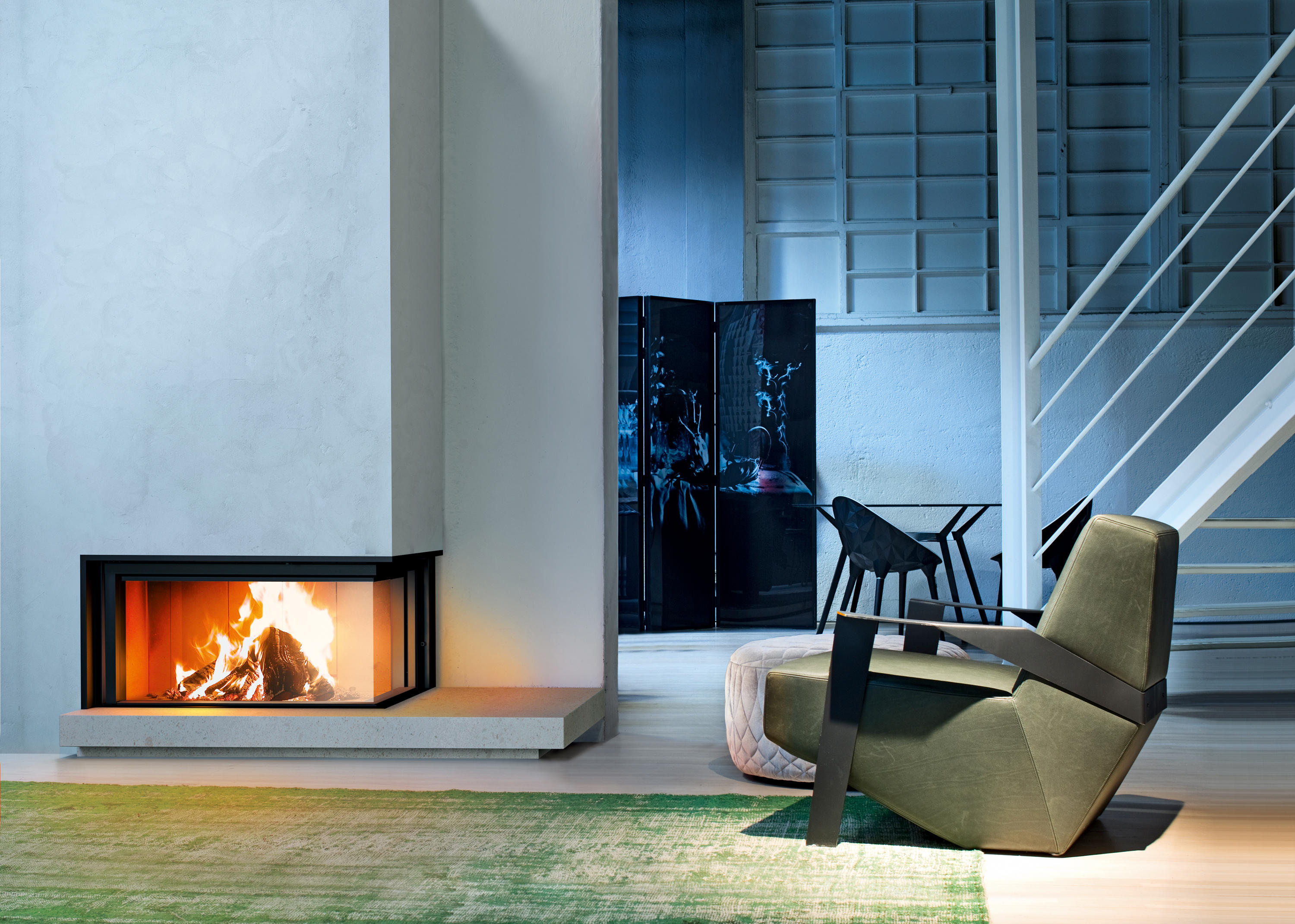 Caminetto Mcz Vivo 80 Forma 95 Wood Closed Fireplaces From Mcz Architonic