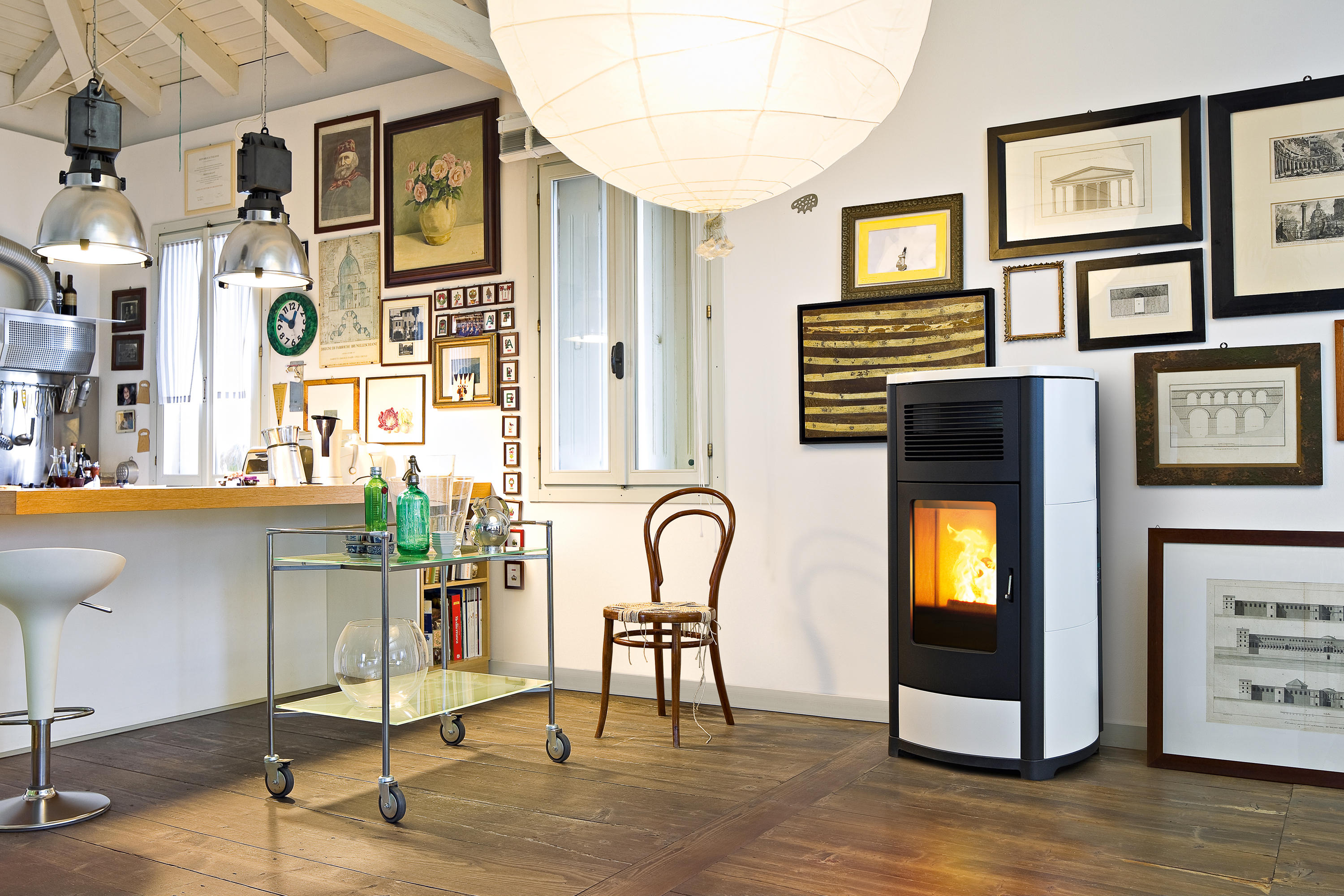 Mcz Cute Club Pellet Stoves From Mcz Architonic