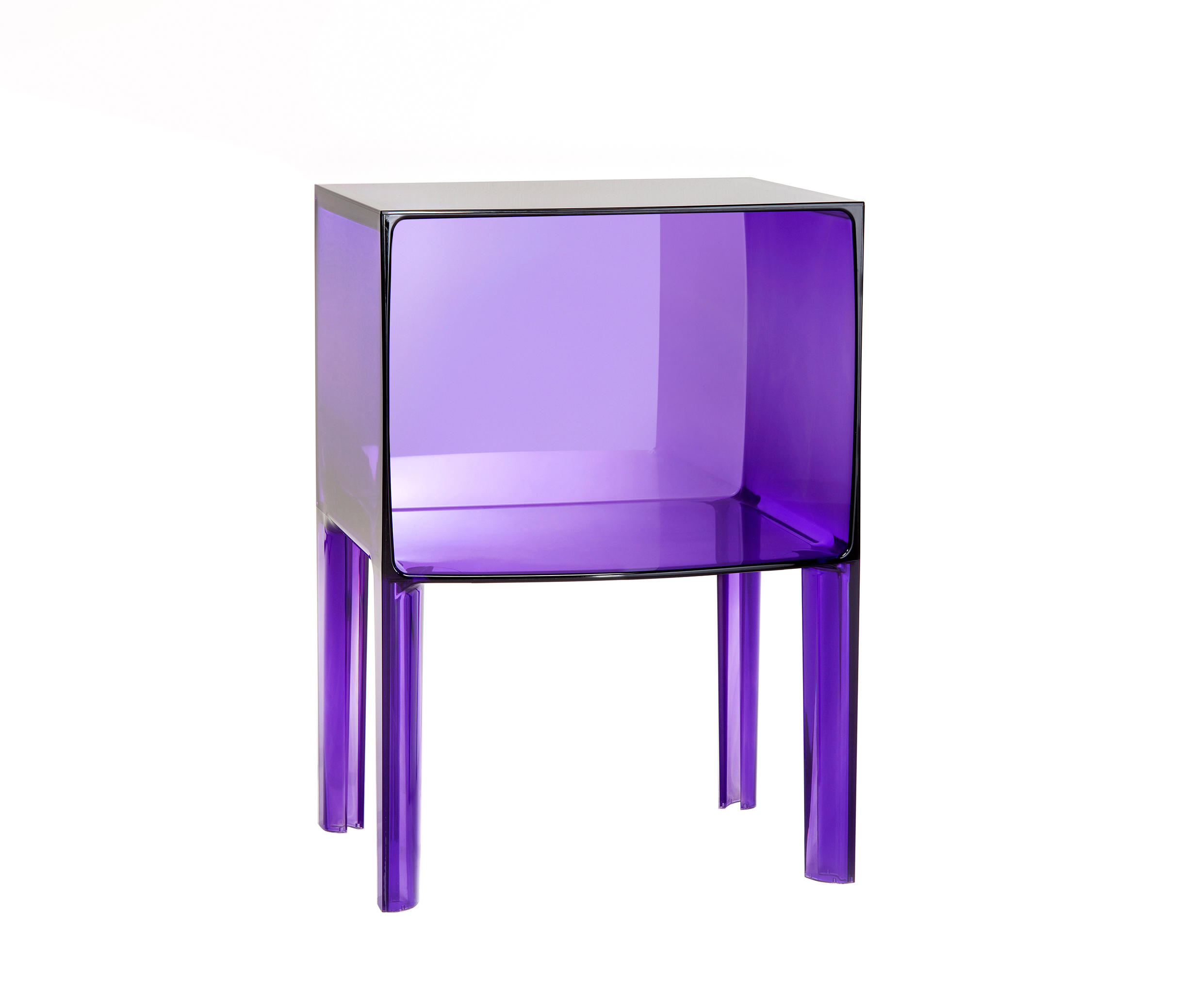 Cubo Kartell Small Ghost Buster Side Tables From Kartell Architonic