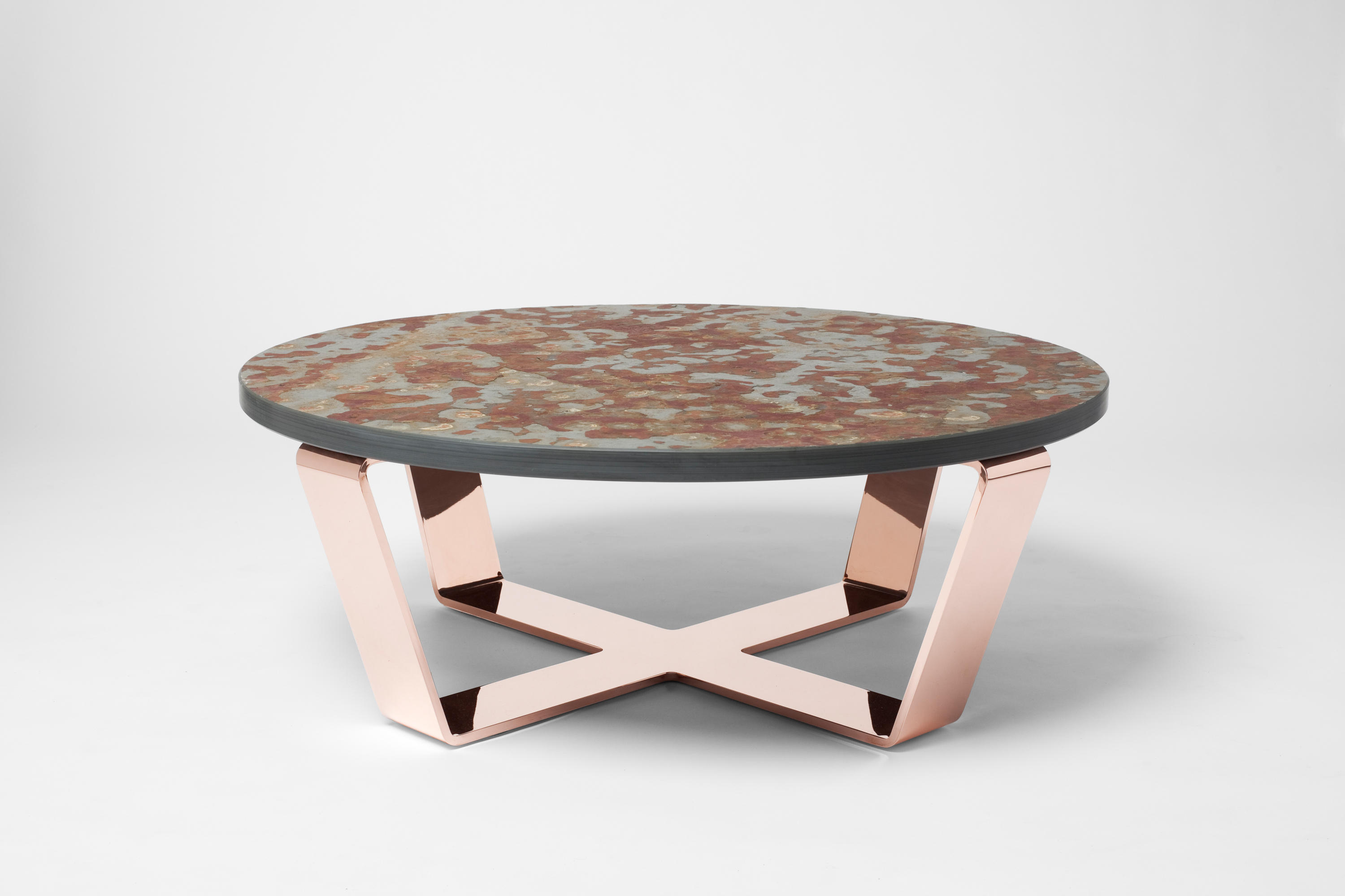 Slate Table Copper Brasil Salontisch Architonic