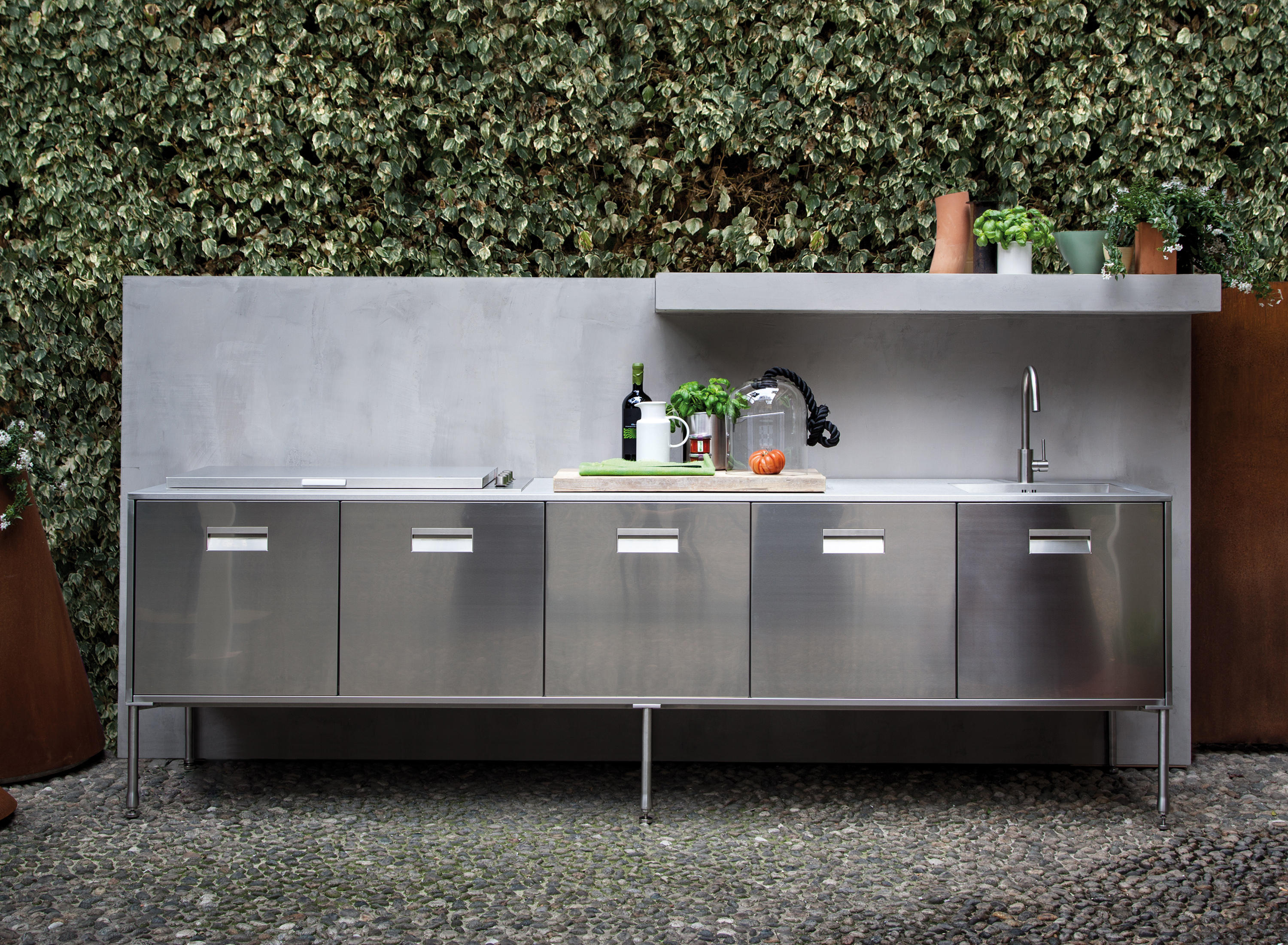 Cucina A Gas Esterno Artusi Outdoor Cucine Outdoor Arclinea Architonic