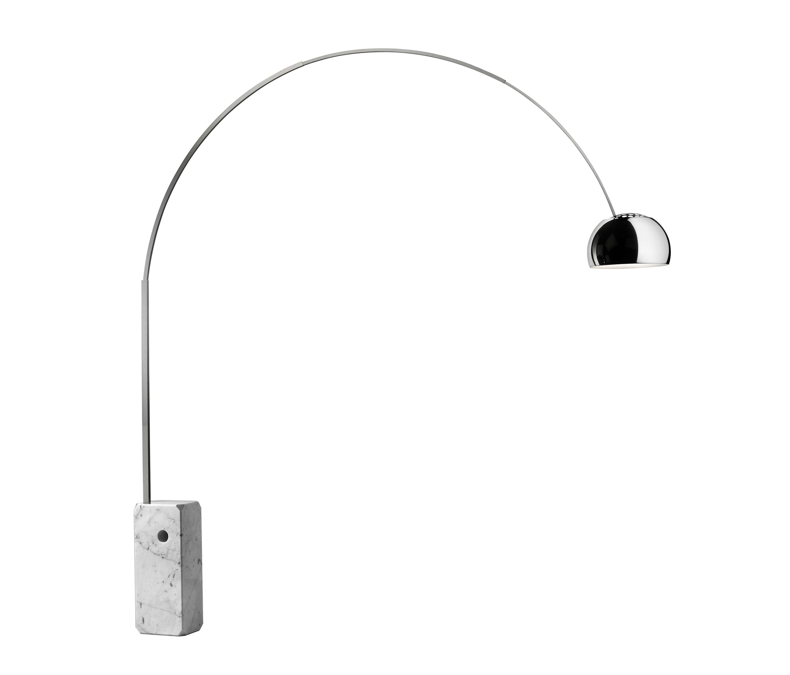 Lampara Pie Arco Arco Arco Led Lámparas De Pie De Flos Architonic