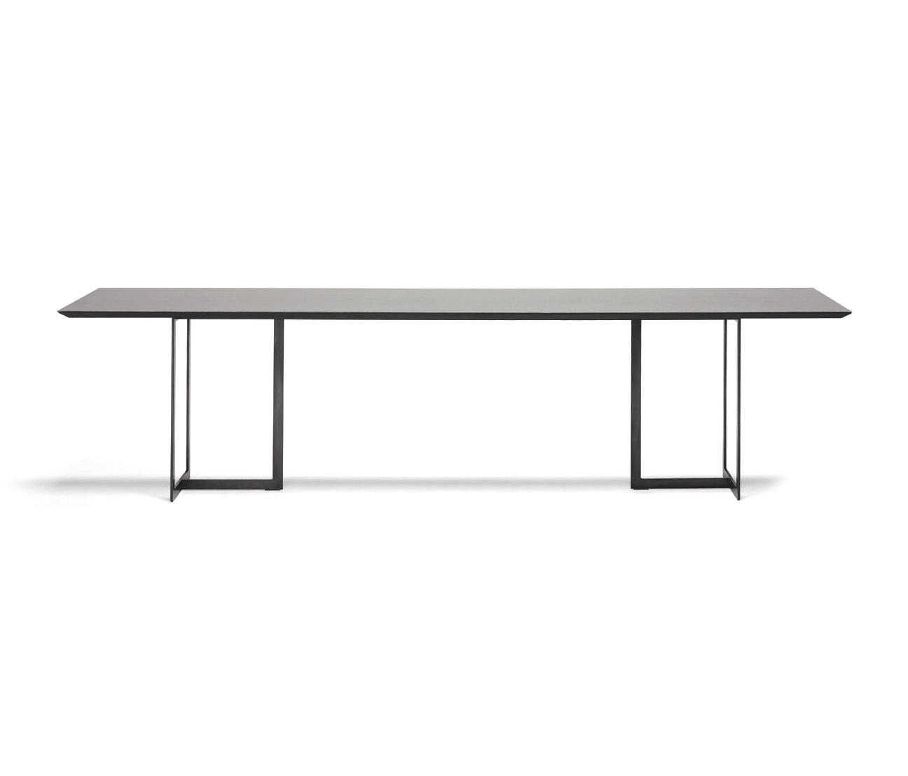 Glastisch Metallgestell Leonardo Rett Dining Tables From Ydf Architonic