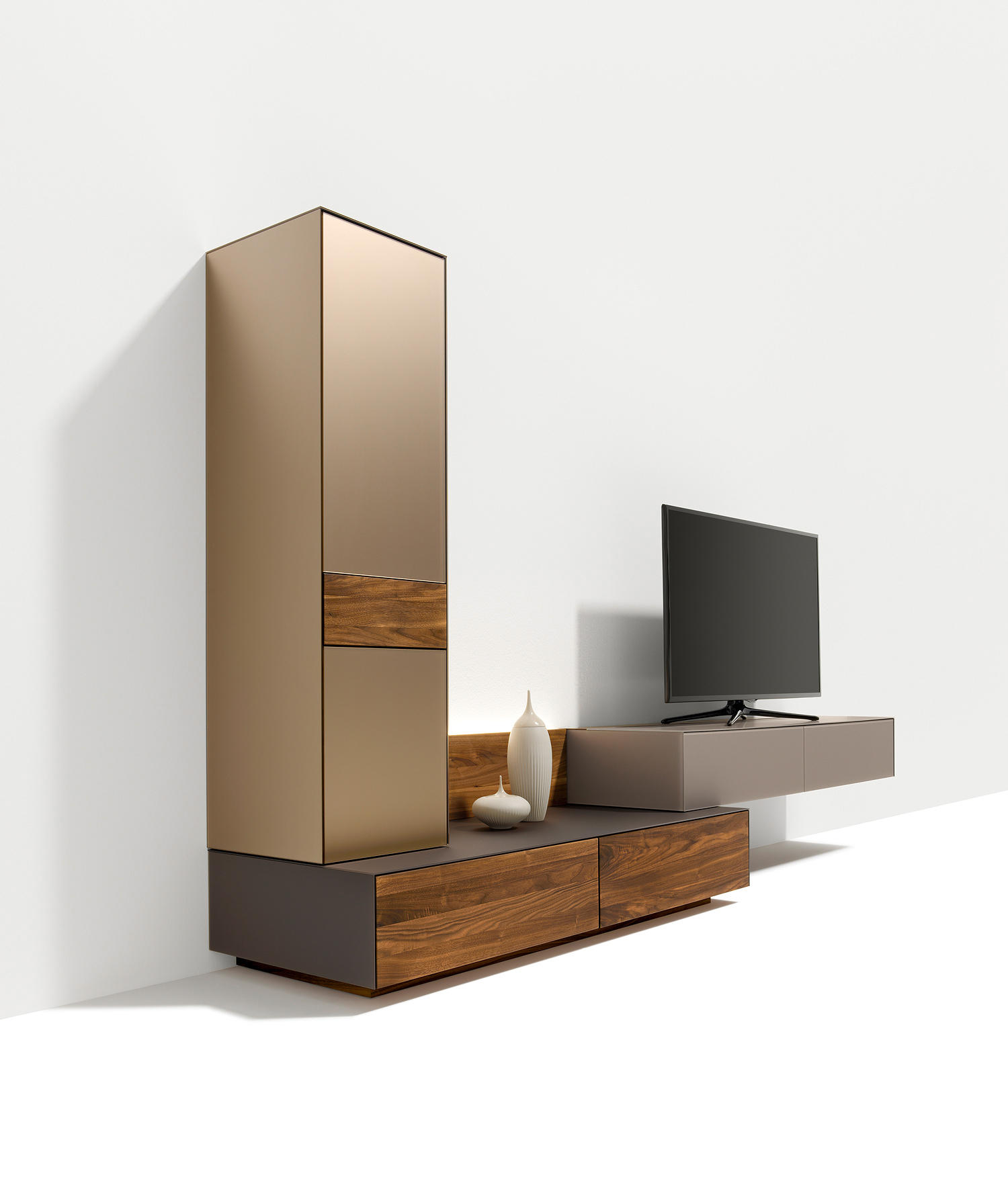 Cubus Pure Wall Units Designer Furniture Architonic