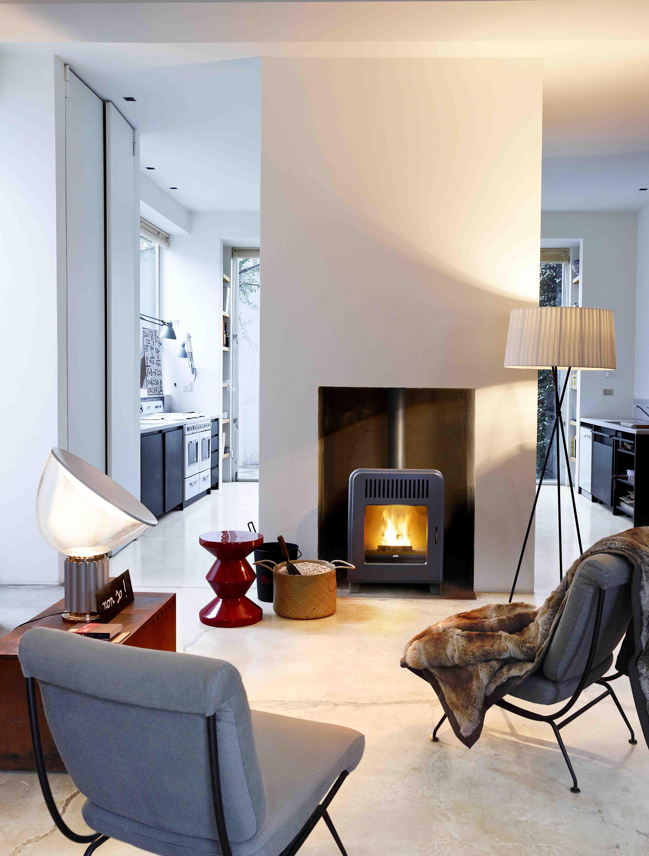 Mcz Cute Cute Pellet Stoves From Mcz Architonic