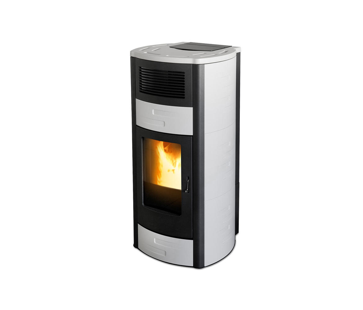 Pellet Kaminofen Verbrauch Pro Tag Duo Pellet Stoves From Mcz Architonic