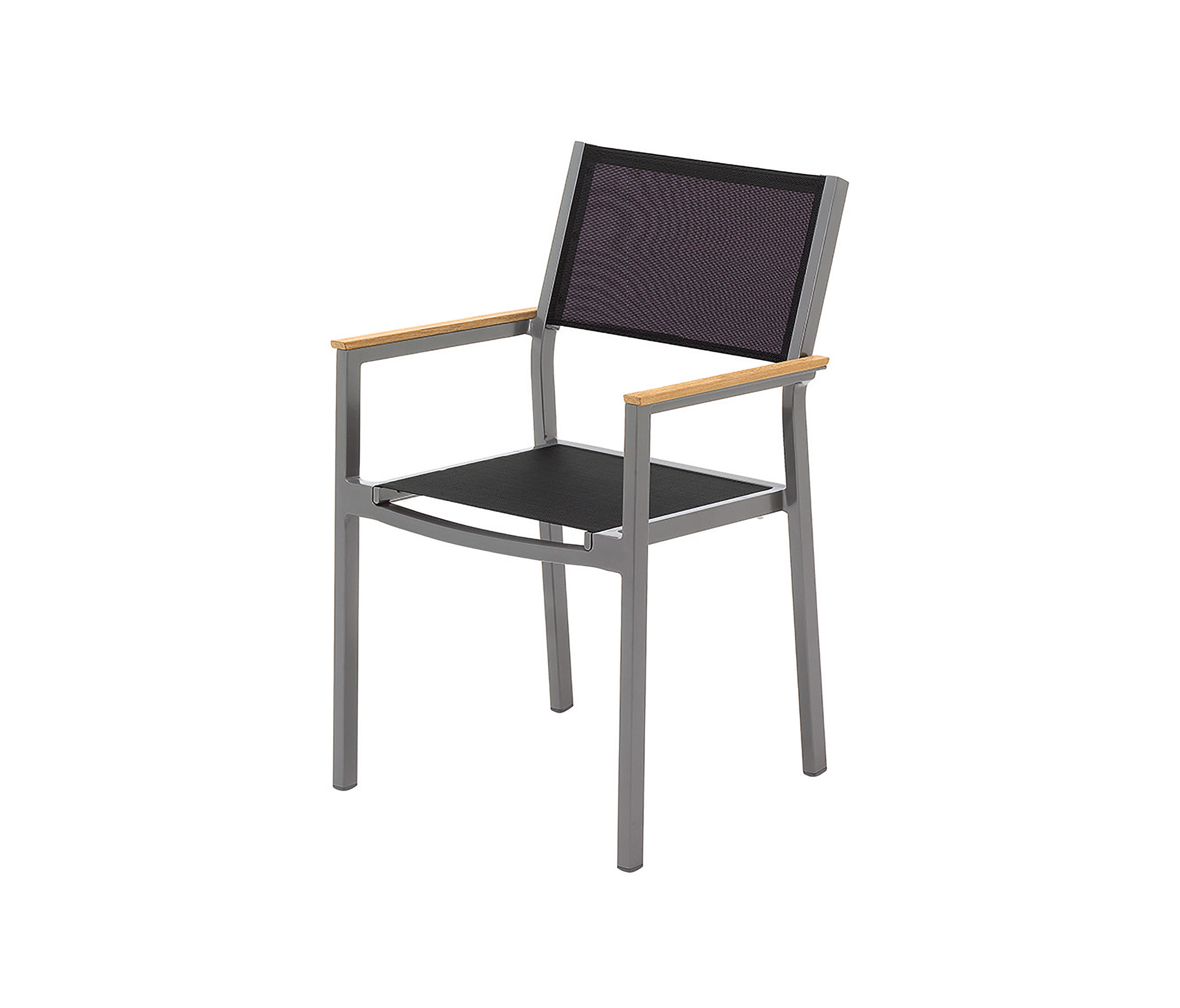 Luna Stacking Chair With Arms Chairs From Gloster