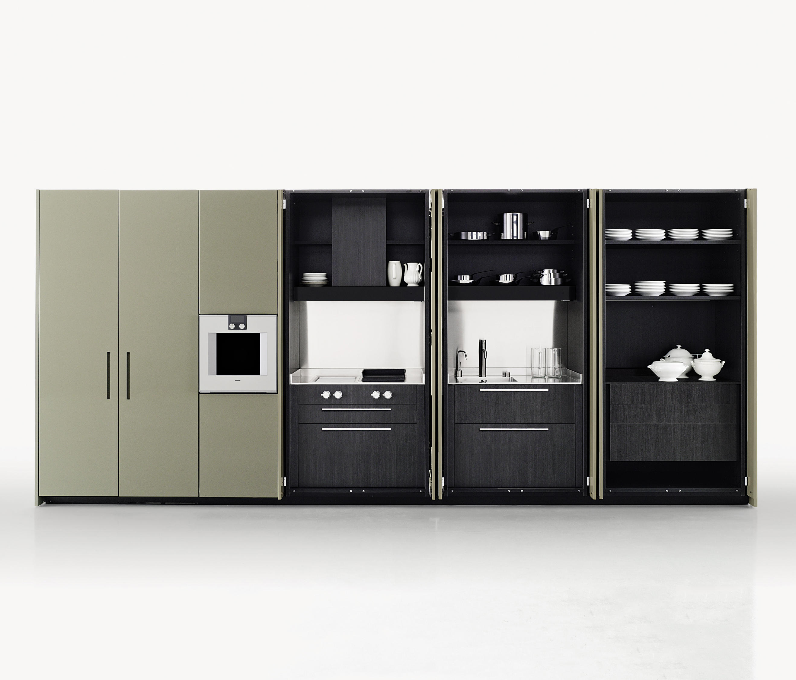 Boffi Cuisine Hide Compact Kitchens From Boffi Architonic