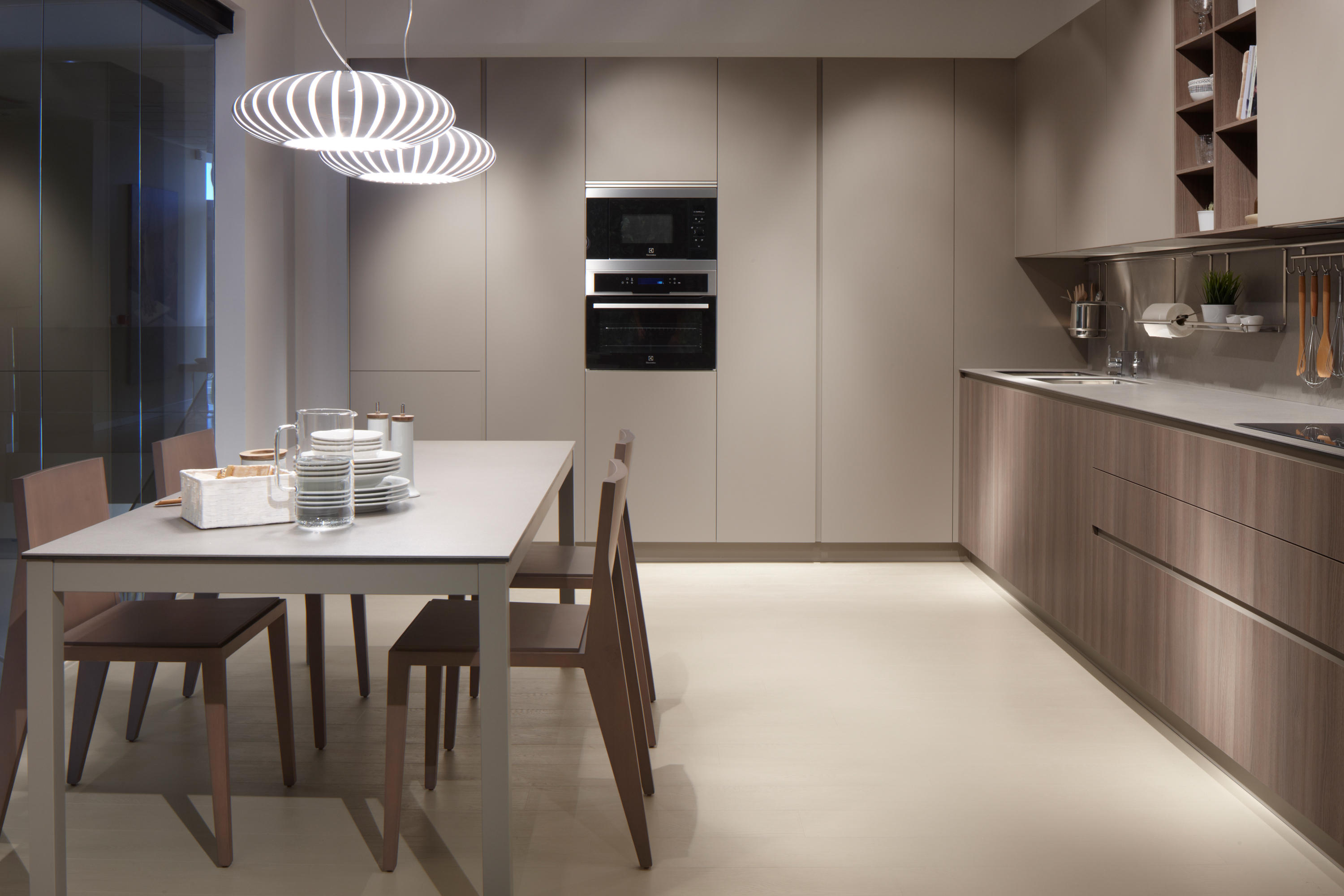 Cocinas Dica Serie 45 Elm Chocolate Stone Fitted Kitchens From Dica