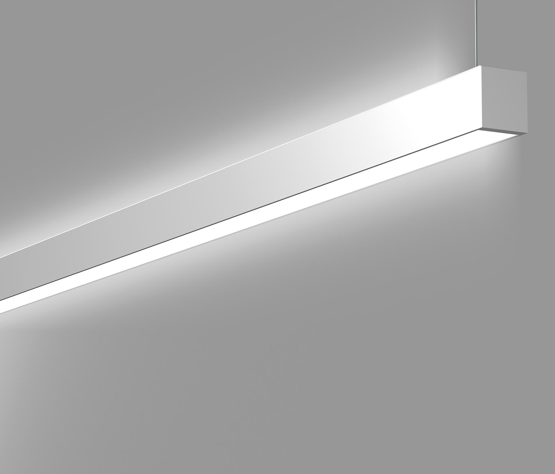 Was Sind Led Leuchten Less Is More Led Linear System - Suspended Lights From Rzb
