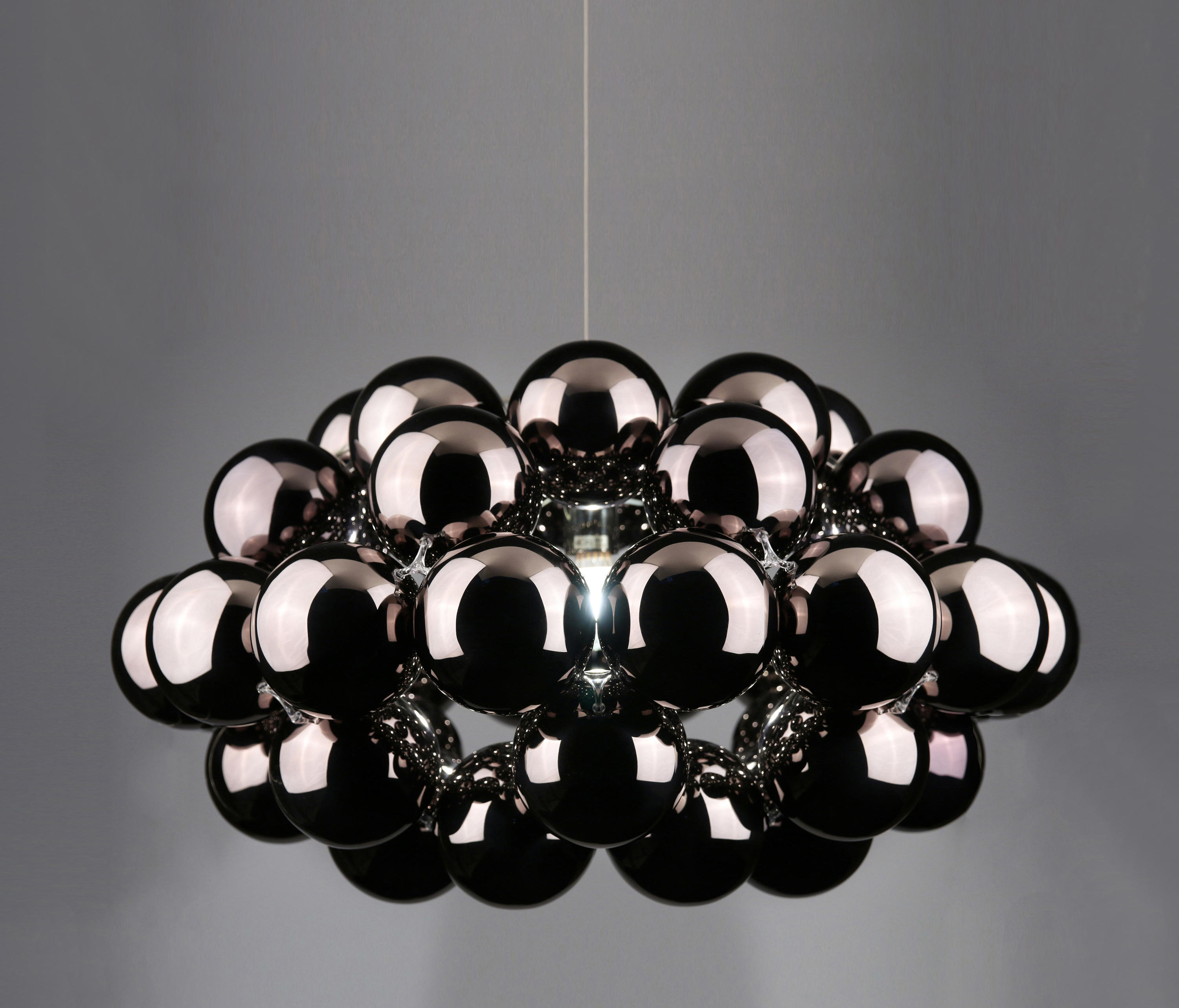 Suspension Octo Beads Octo Gunmetal Pendant Suspended Lights From Innermost
