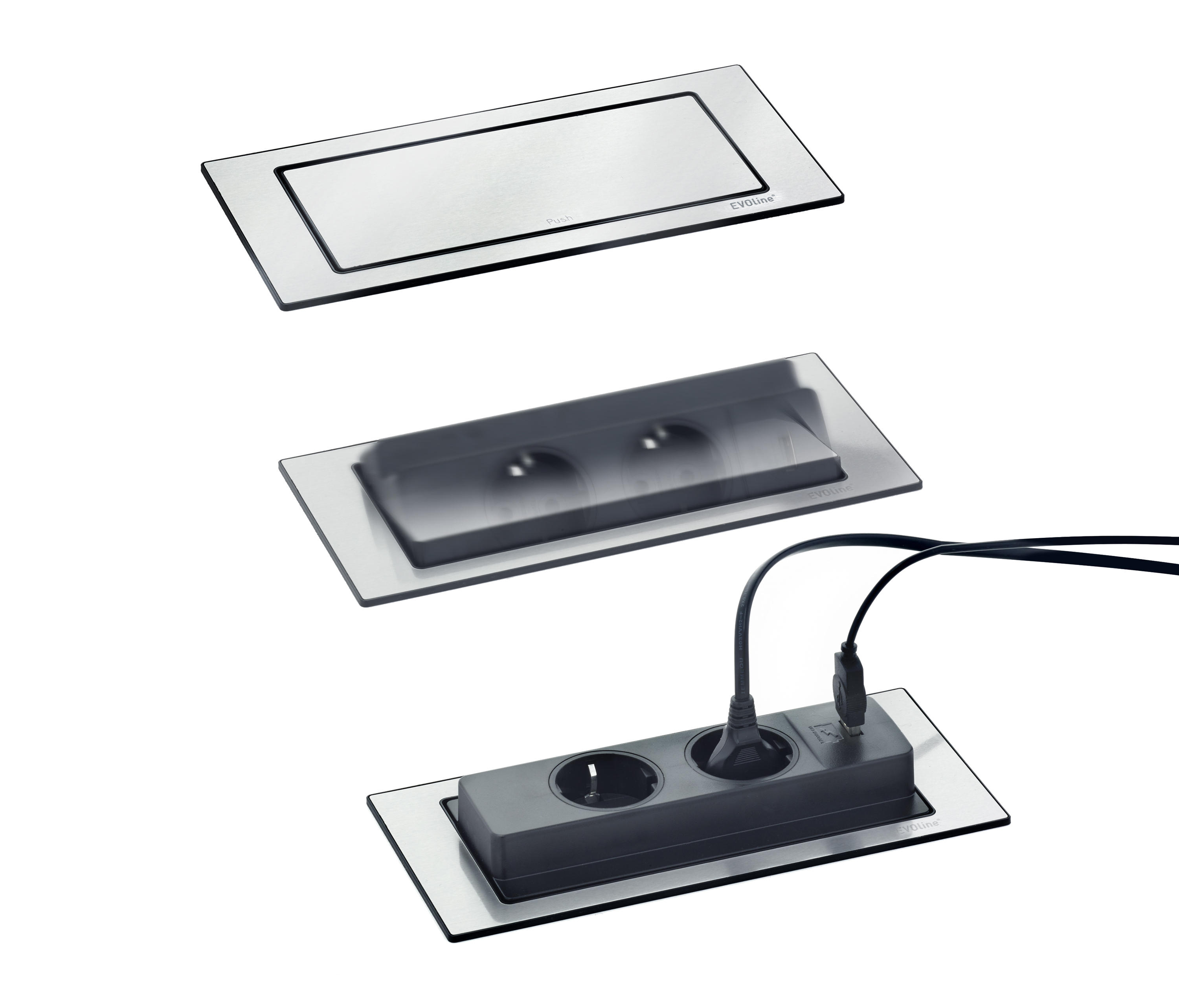 Popup Stopcontact Keuken Backflip Schuko Sockets From Evoline Architonic