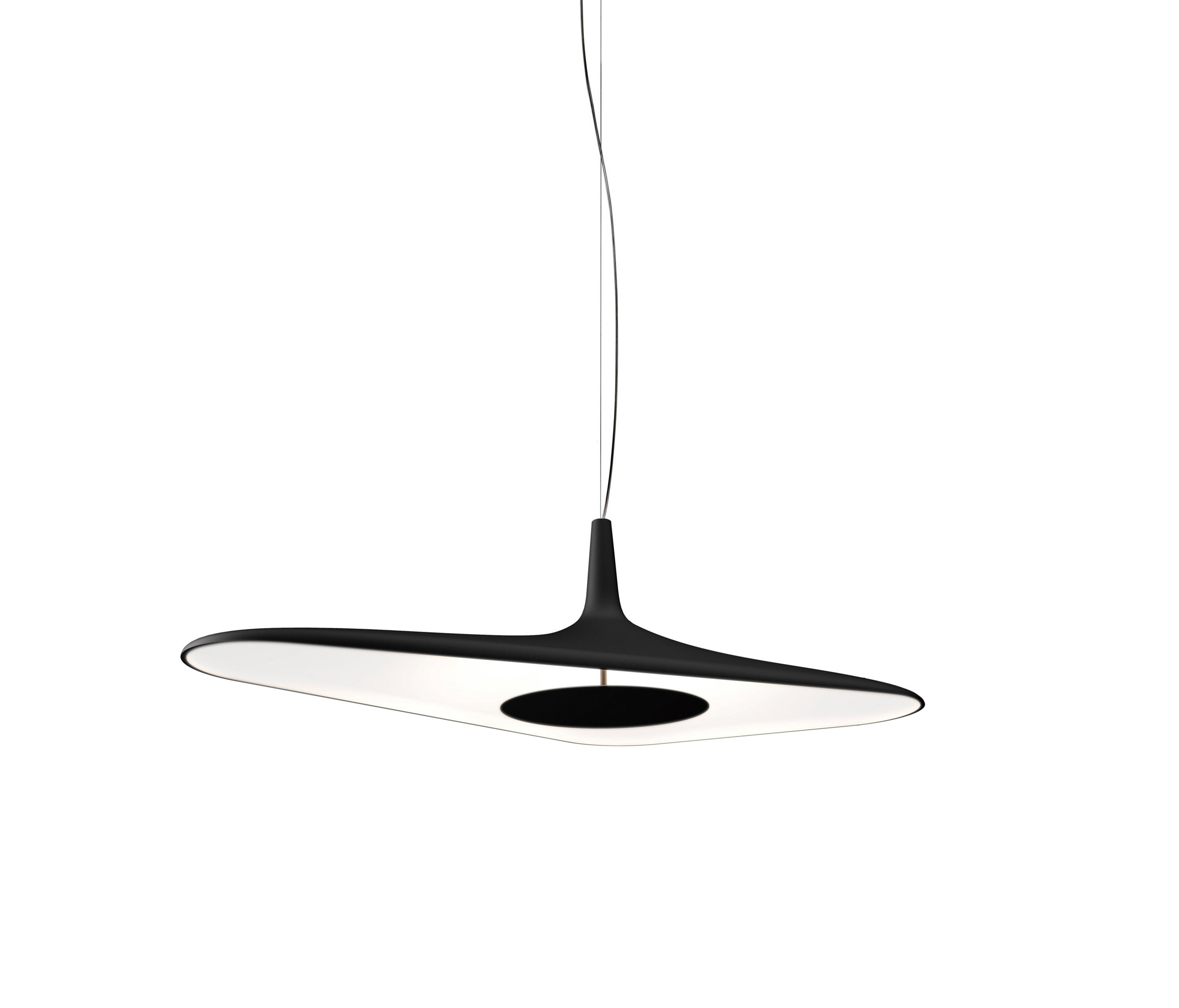 Suspension Noir Metal Soleil Noir Suspended Lights From Luceplan Architonic