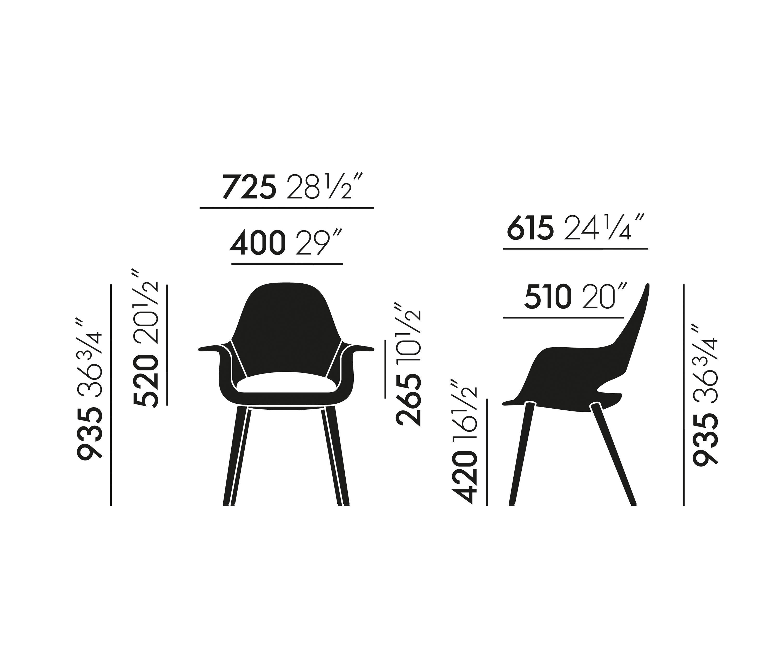 Organic Conference Chairs From Vitra Architonic - Vitra Organic Chair Price