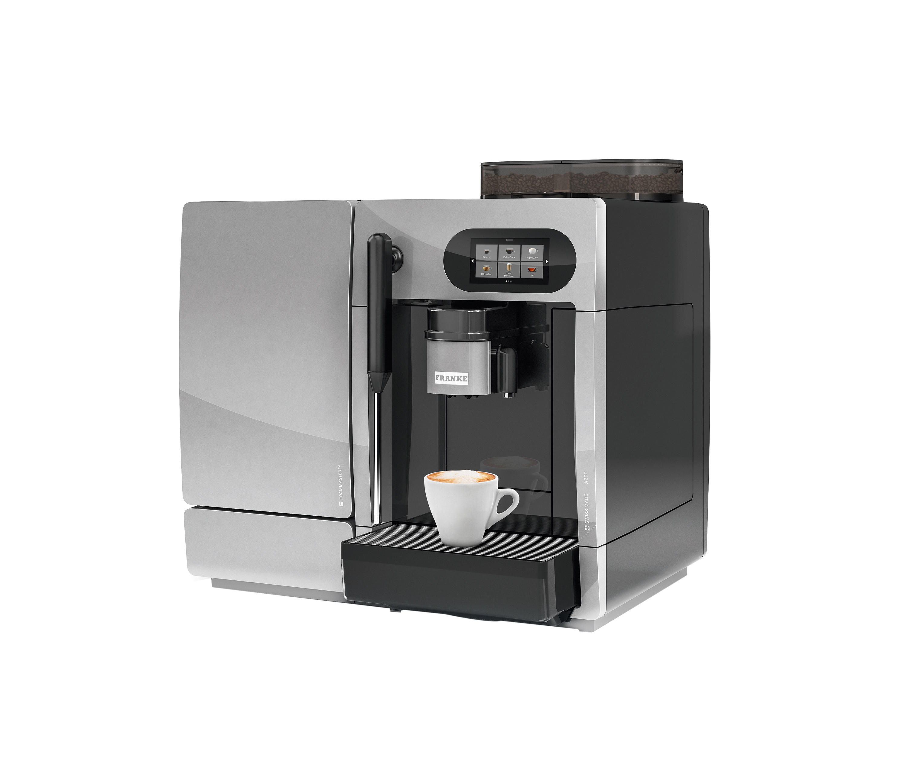 Franke Coffee Systems A200 Coffee Machines From Franke Kaffeemaschinen Ag Architonic