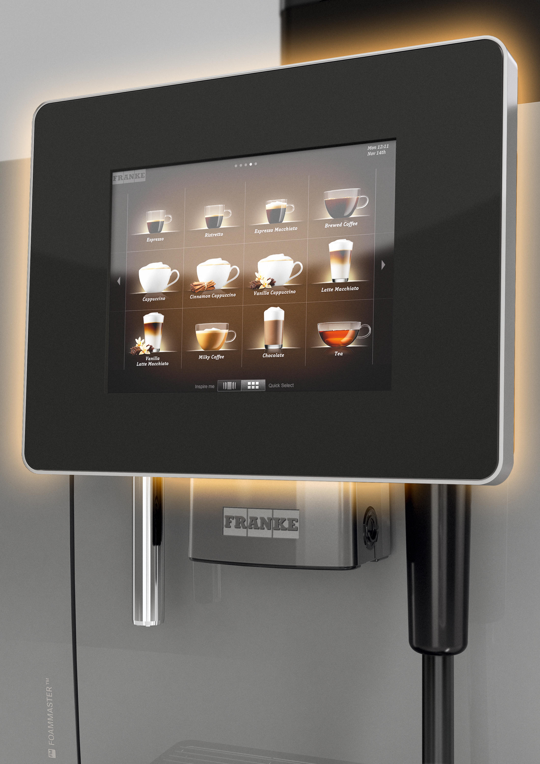 Franke Coffee Systems A600 Coffee Machines From Franke Kaffeemaschinen Ag Architonic