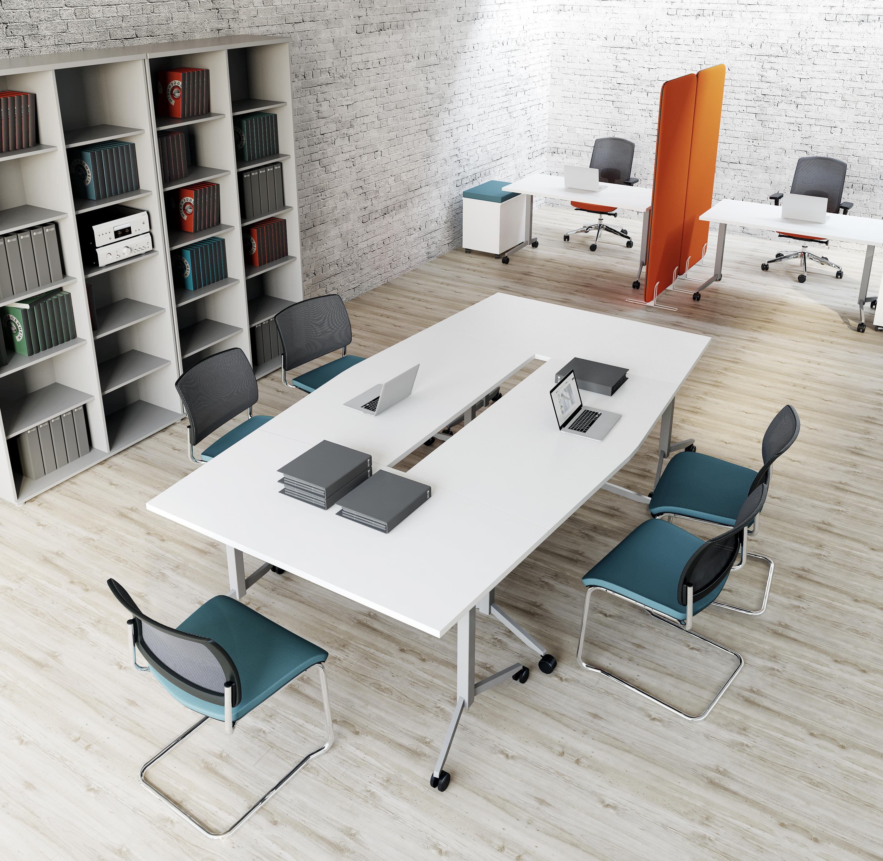 Meeting Room Tables Folding Table Contract Tables From Mdd Architonic